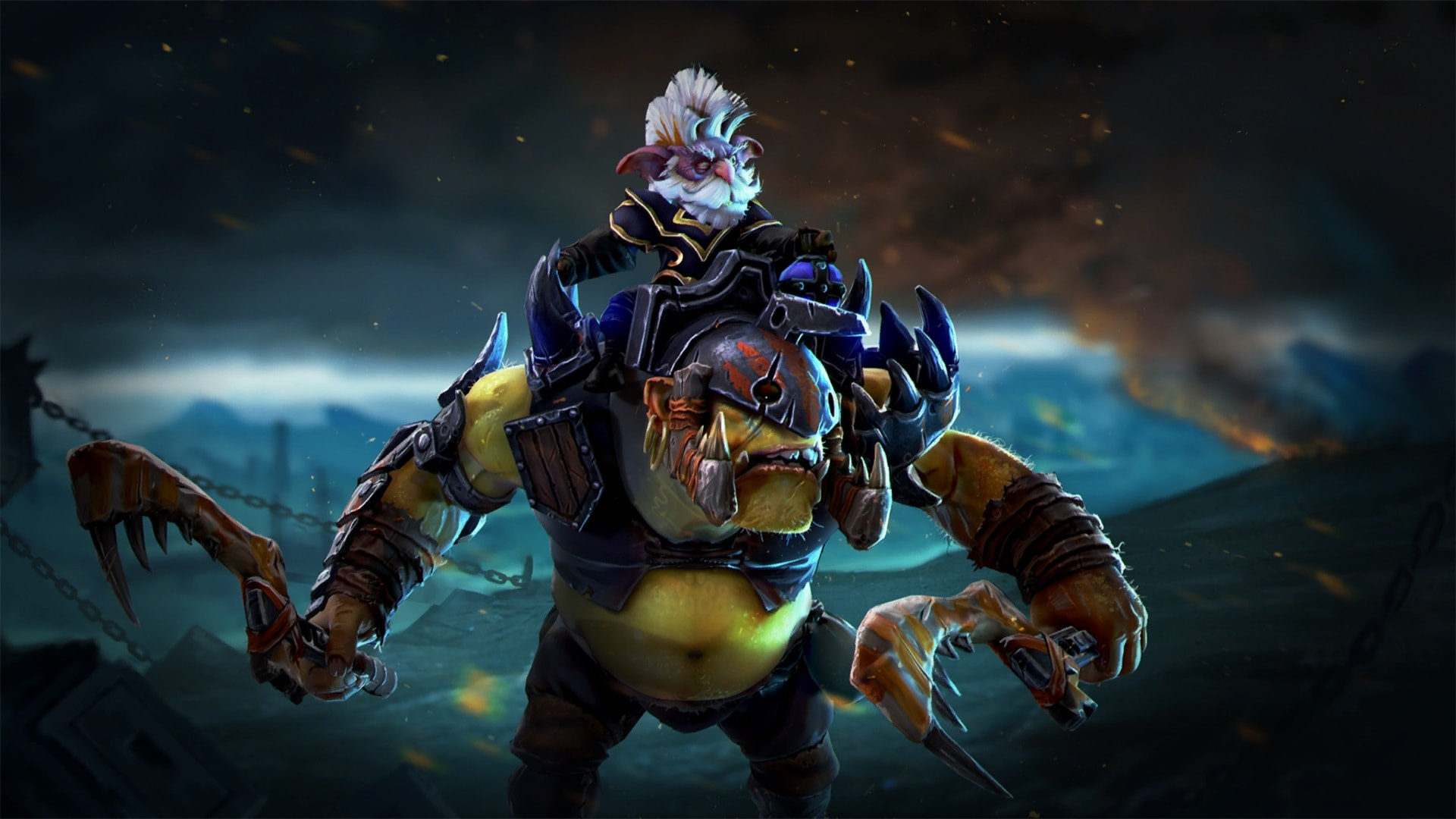 Dota2 : Alchemist widescreen wallpapers