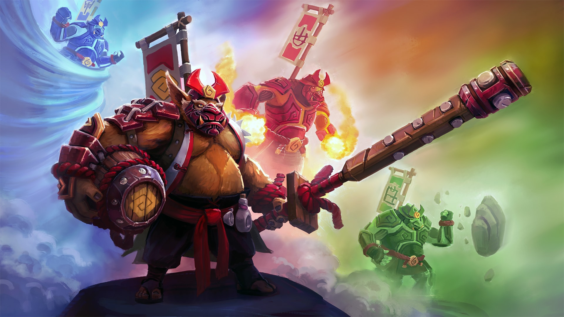 Dota2 : Brewmaster widescreen wallpapers