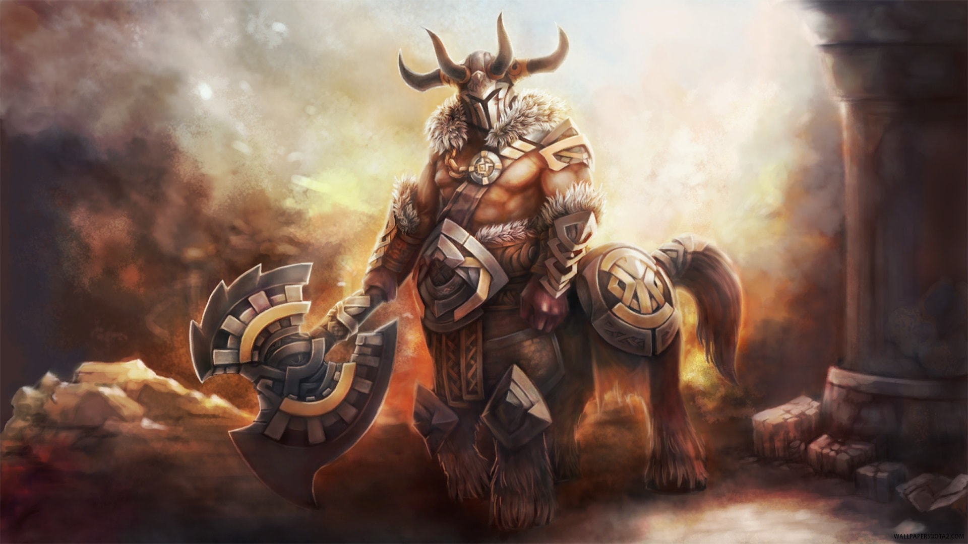 Dota2 : Centaur Warrunner HQ wallpapers