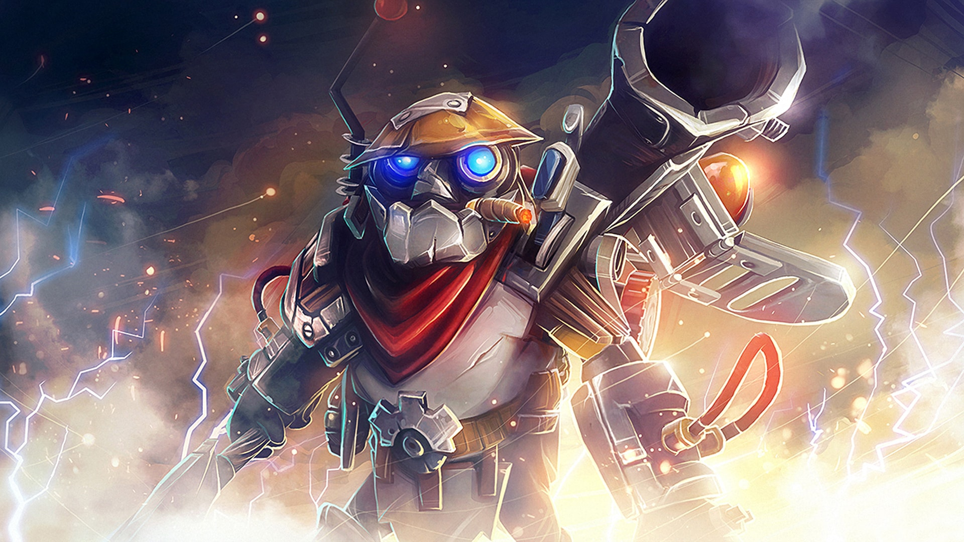 Dota2 : Clockwerk widescreen wallpapers