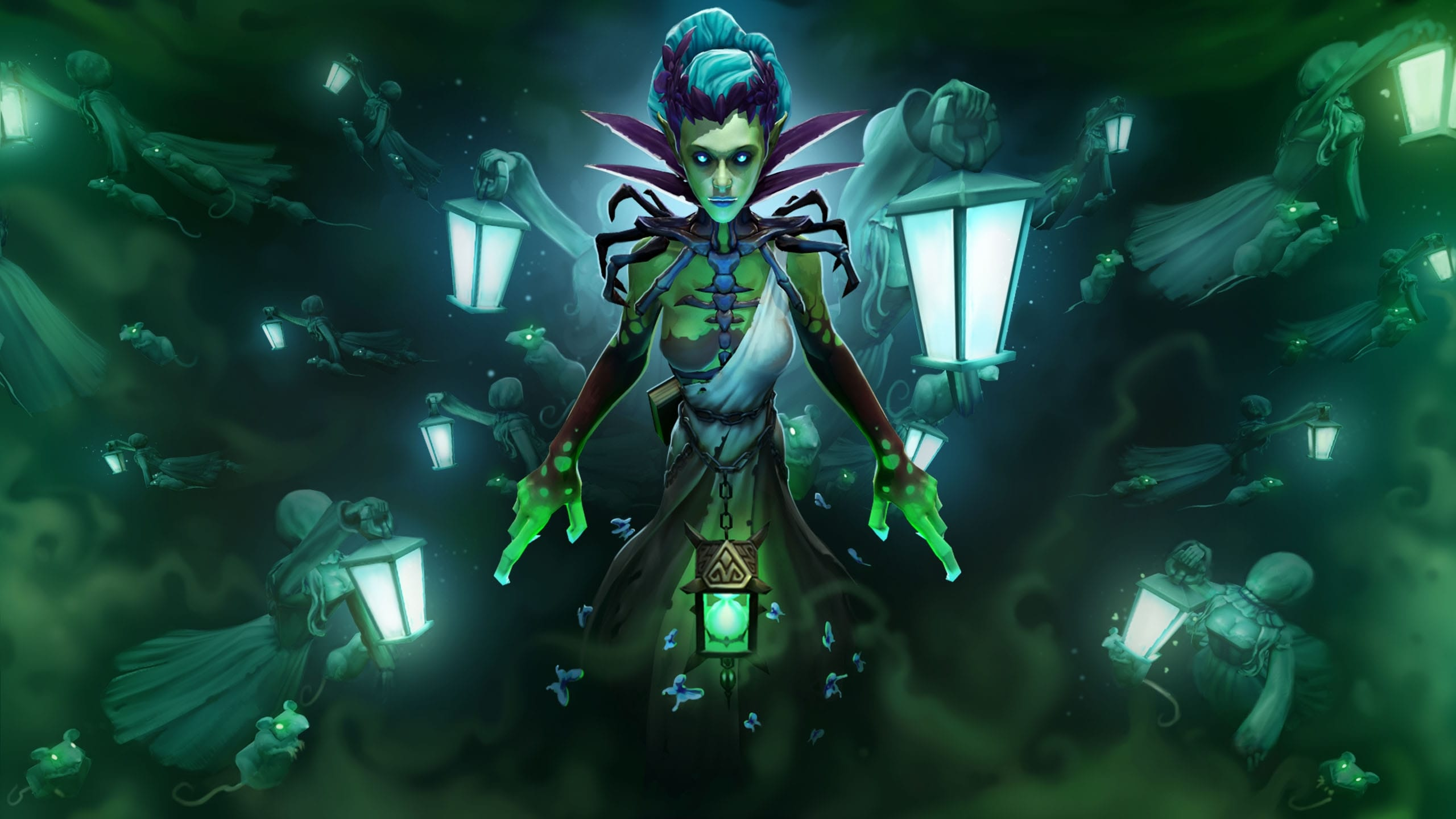 Dota2 : Death Prophet Wallpapers hd