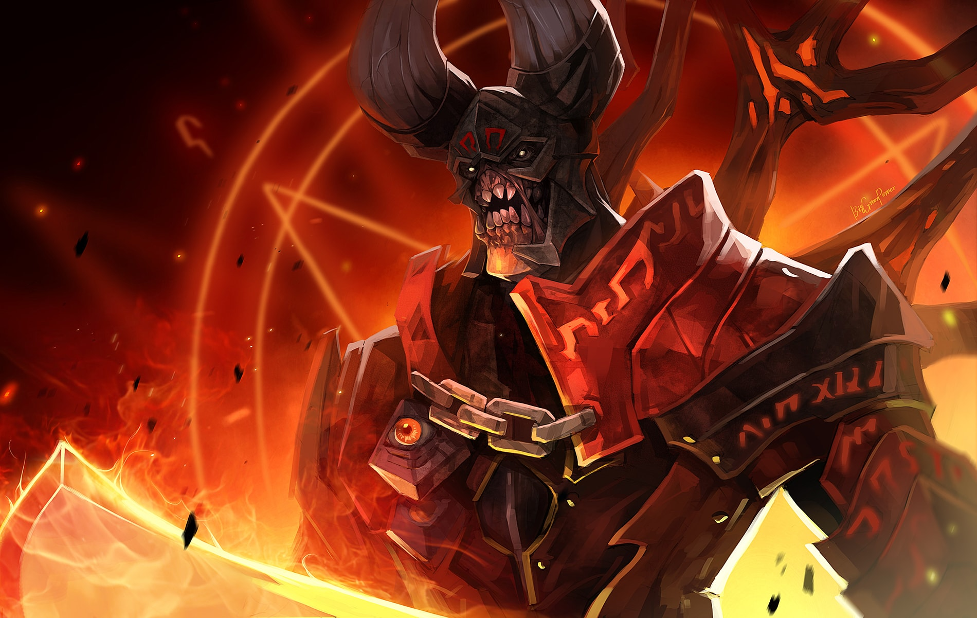 Dota2 : Doom Wallpapers hd