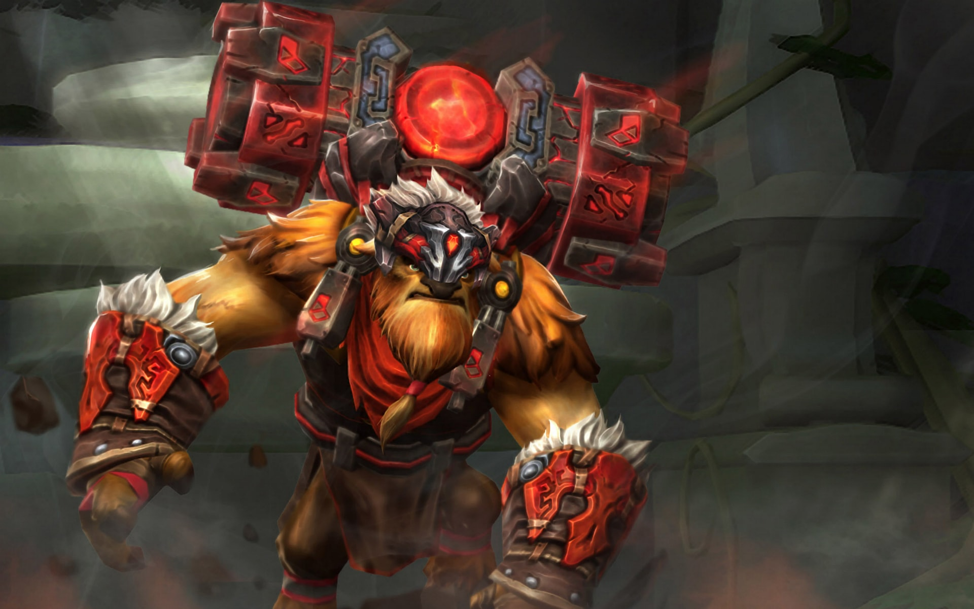 Dota2 : Earthshaker widescreen wallpapers