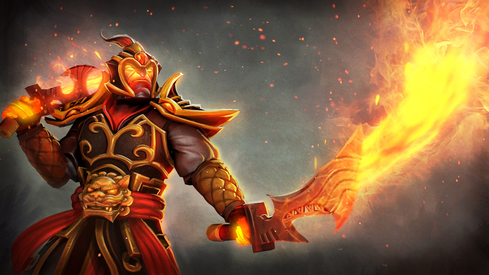 Dota2 : Ember Spirit widescreen wallpapers