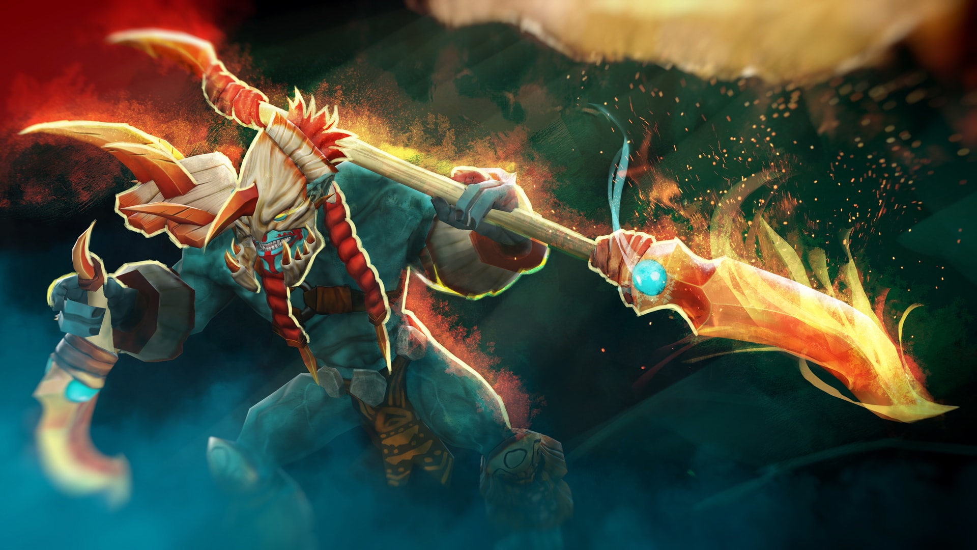 Dota2 : Huskar widescreen wallpapers