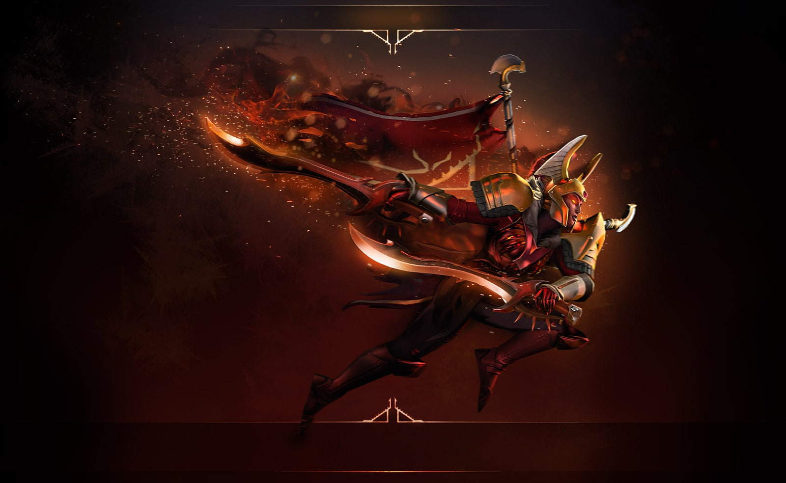 Dota2 : Legion Commander widescreen wallpapers