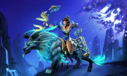 Dota2 : Mirana widescreen wallpapers