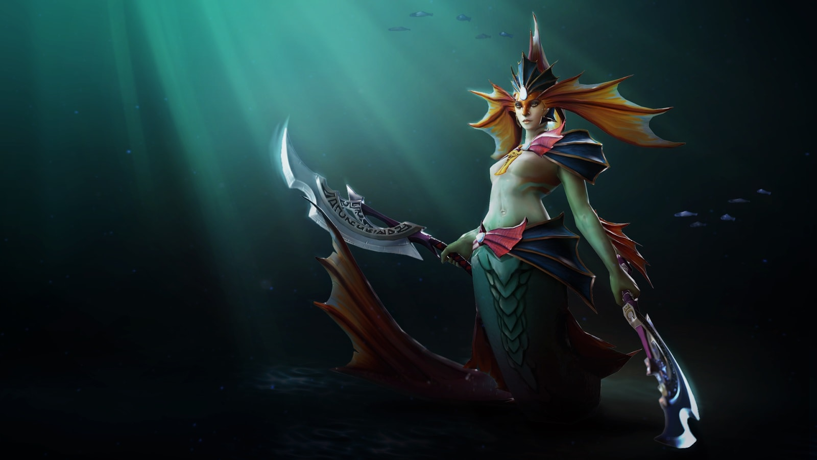 Dota2 : Naga Siren widescreen wallpapers