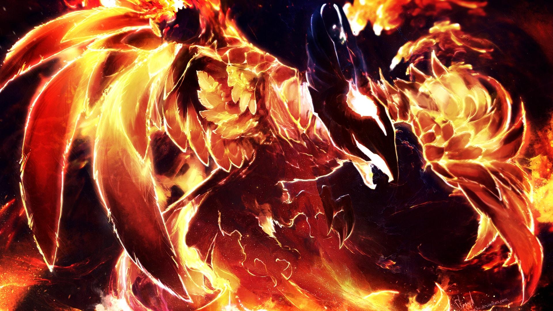 Dota2 : Phoenix Desktop wallpapers