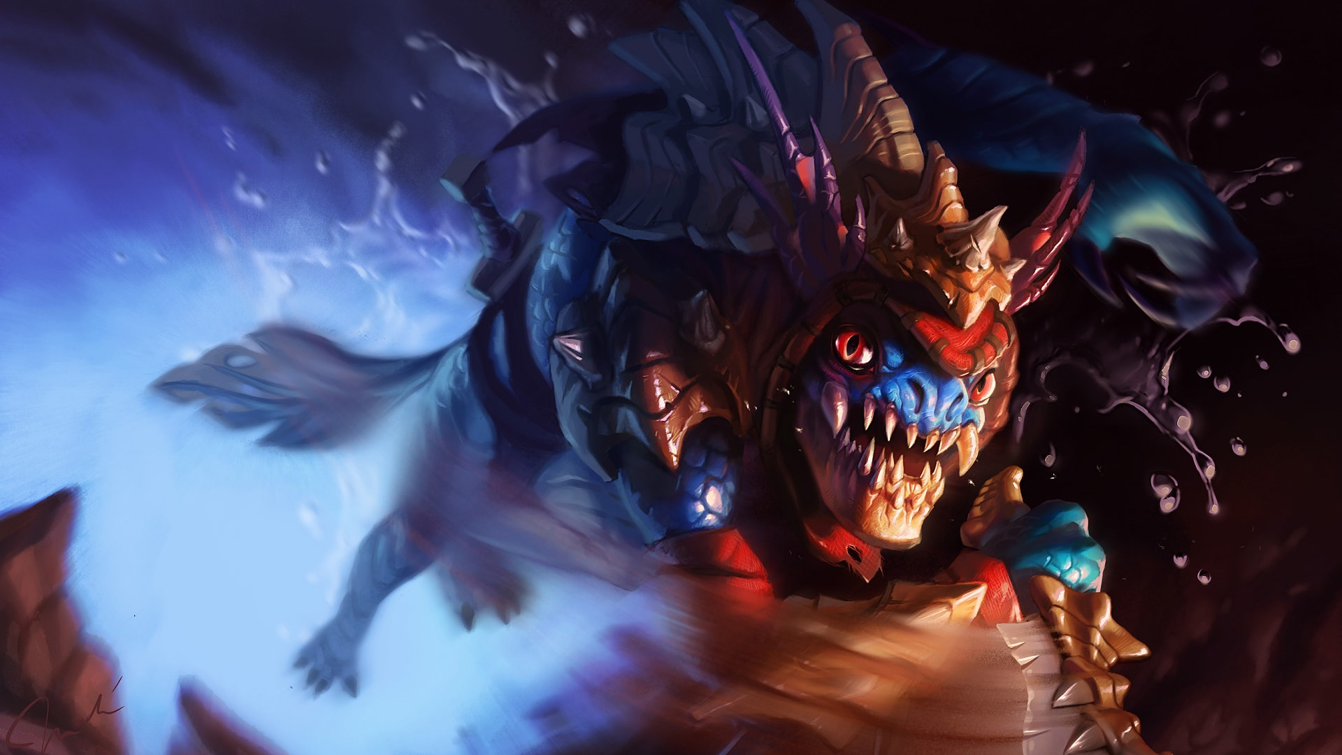 Dota2 : Slark Backgrounds