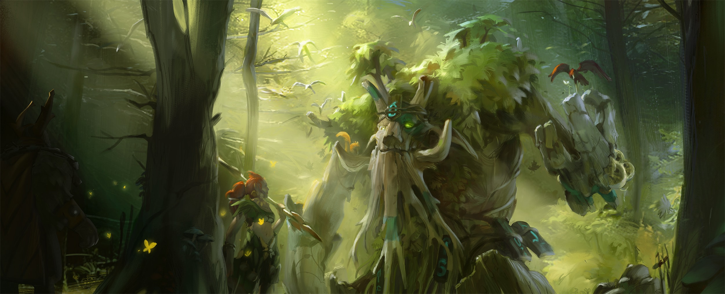 Dota2 : Treant Protector widescreen wallpapers