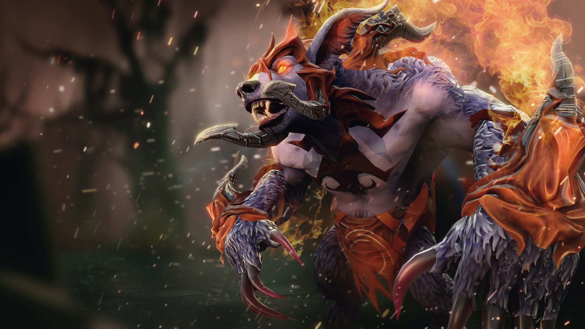 Dota2 : Ursa widescreen wallpapers