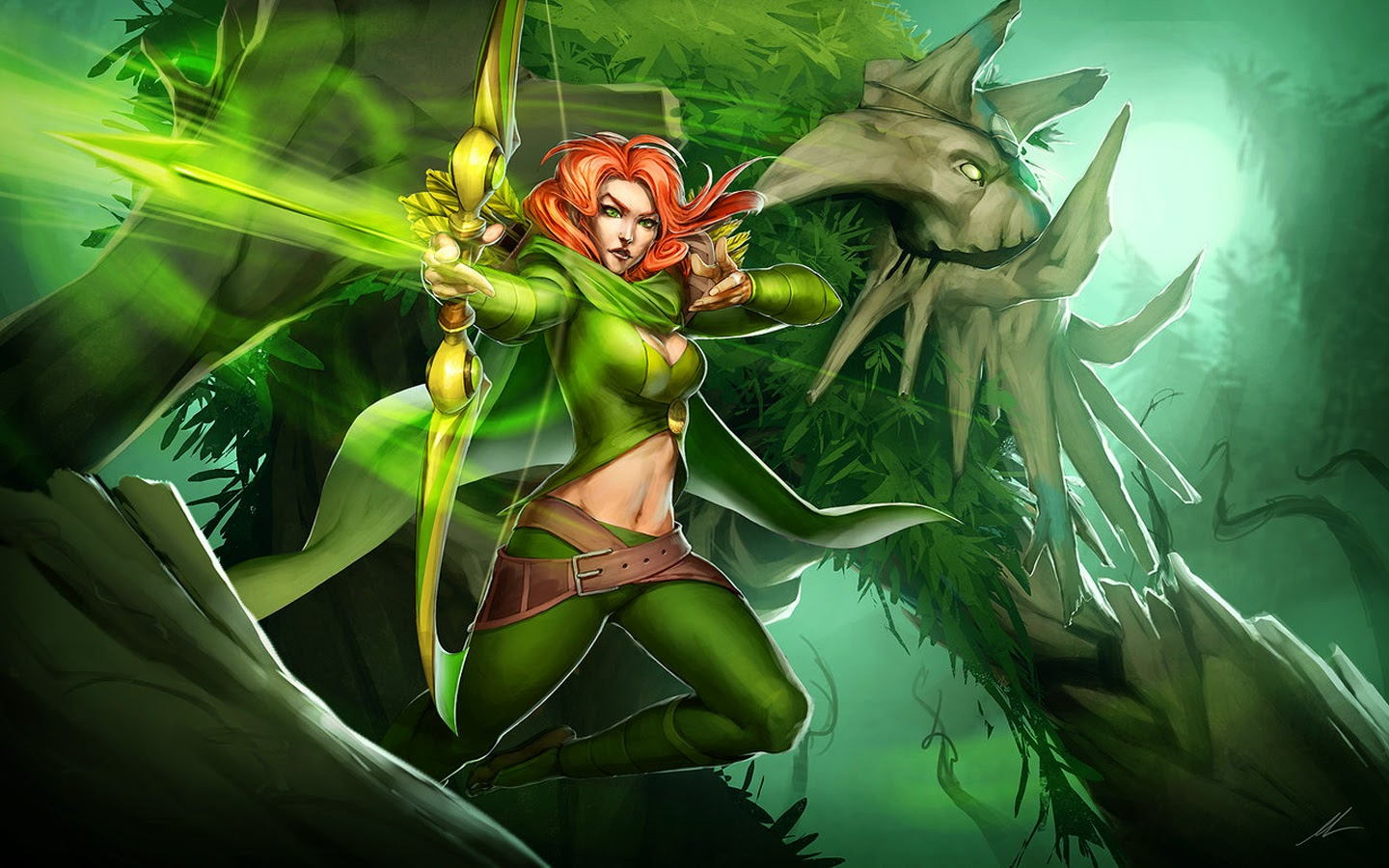 Dota2 : Windranger widescreen wallpapers