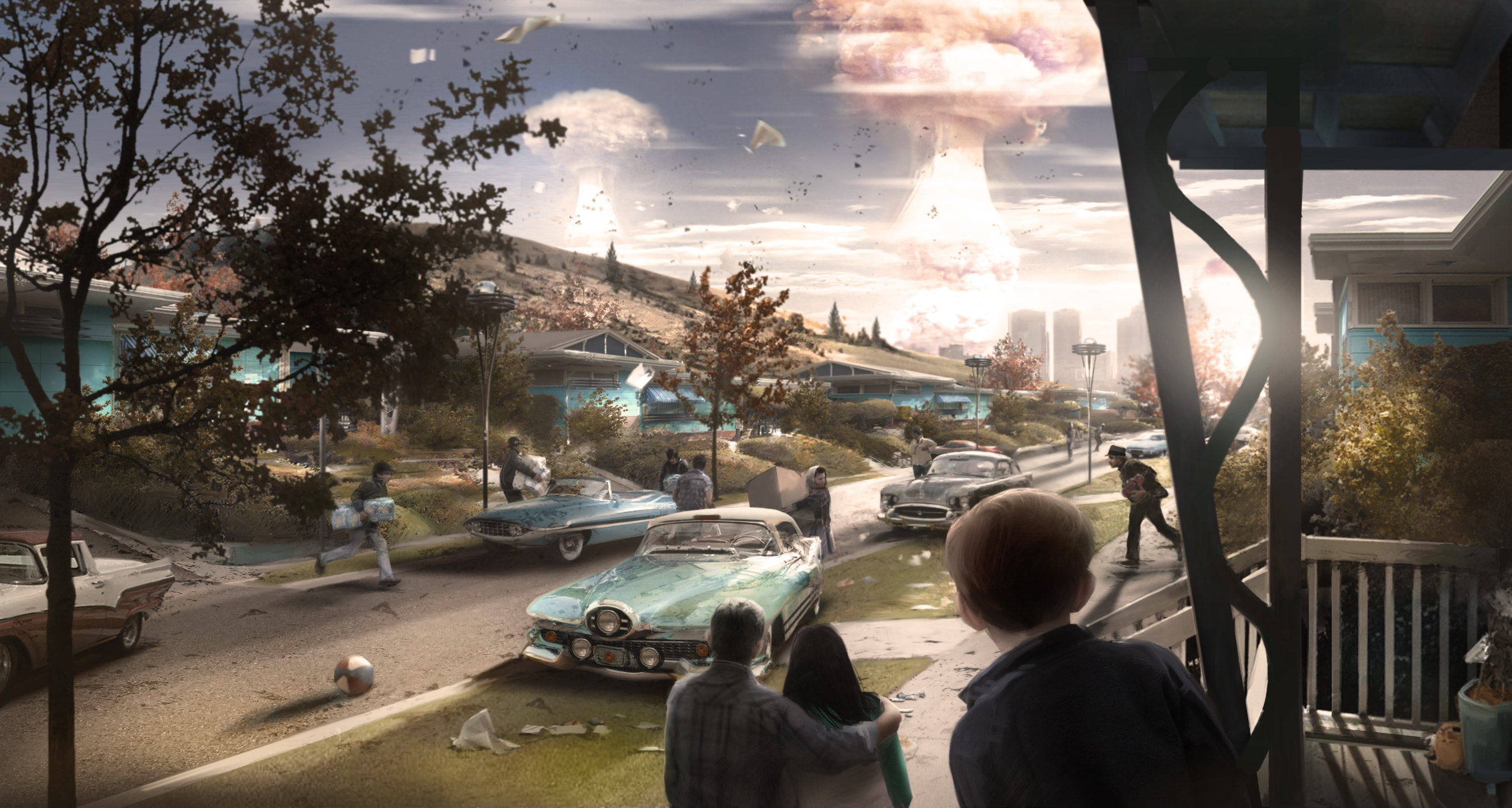 Fallout 4 widescreen wallpapers