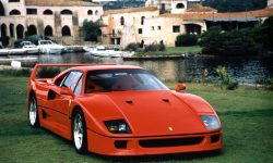 Ferrari F40 widescreen wallpapers