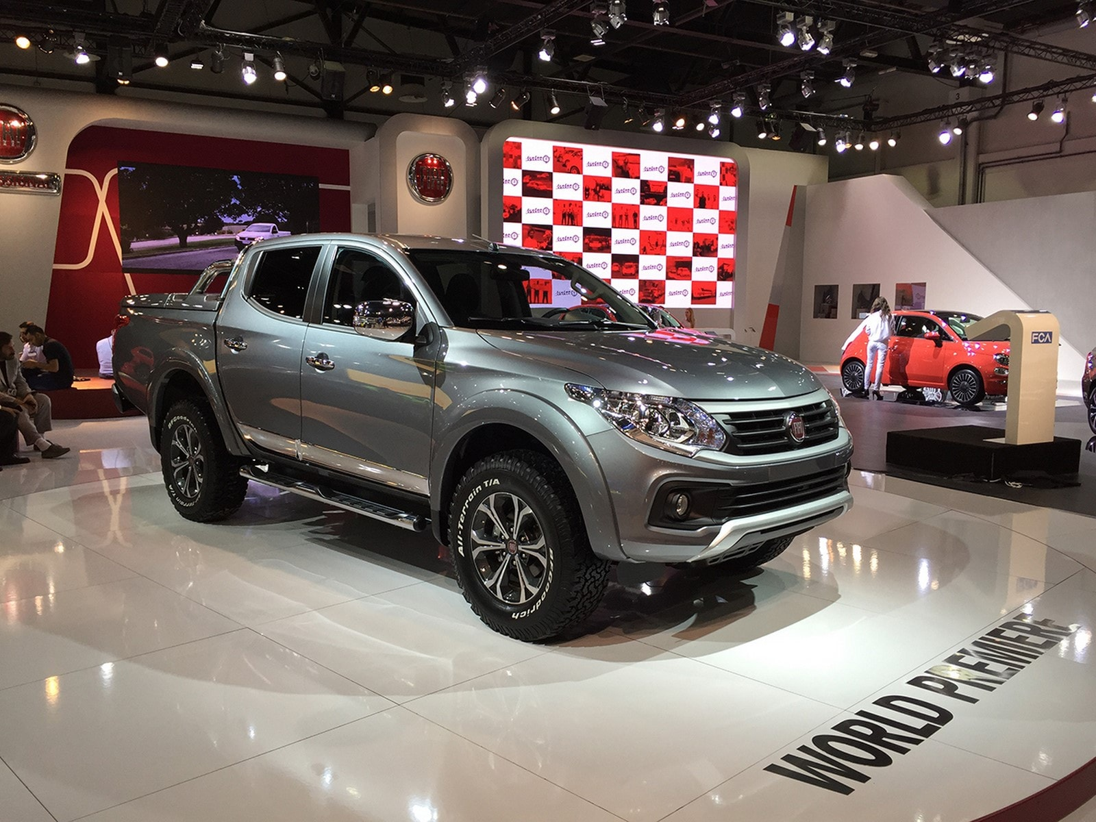 Fiat Fullback widescreen wallpapers