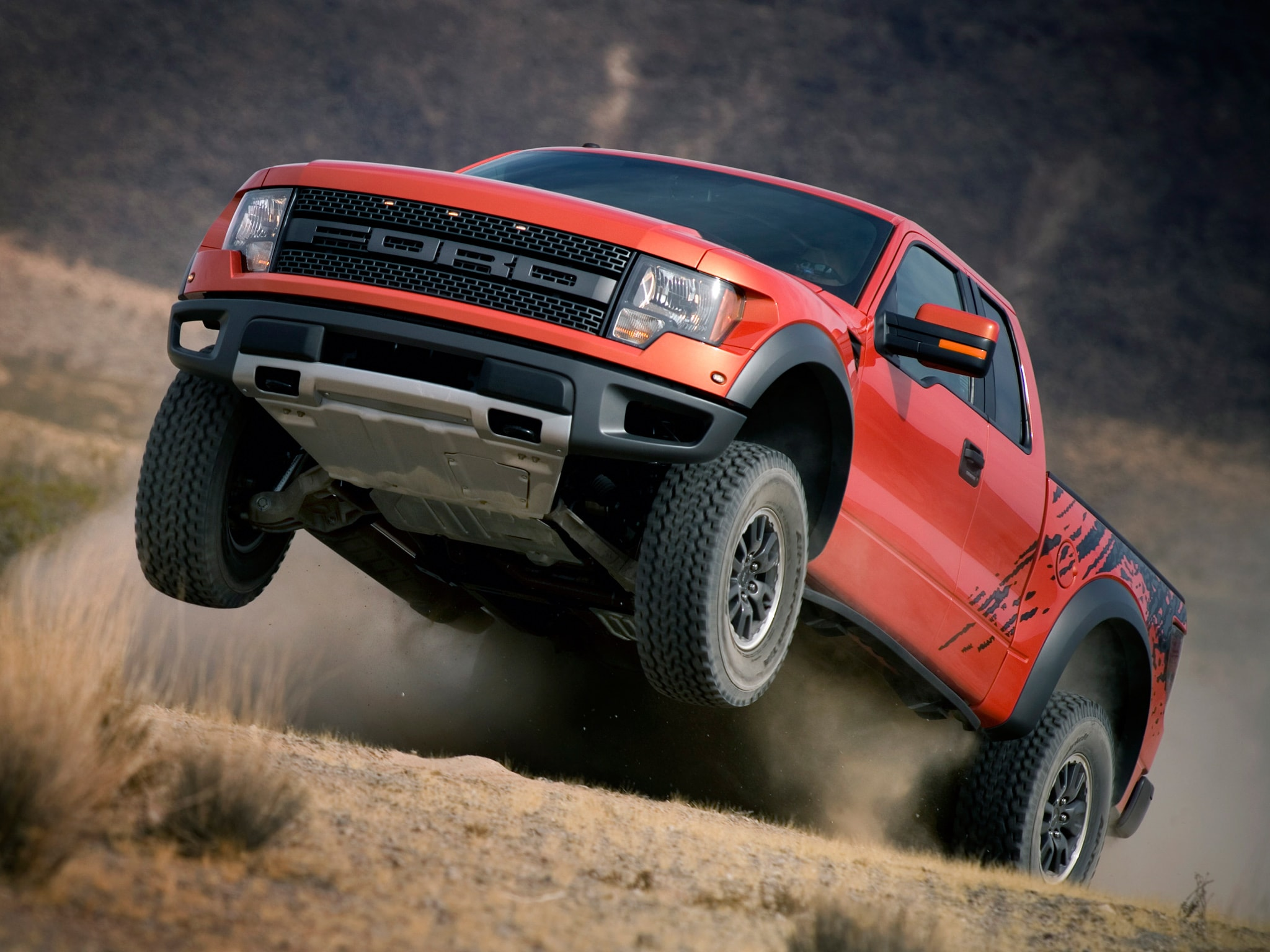 Ford F-150 SVT Raptor widescreen wallpapers