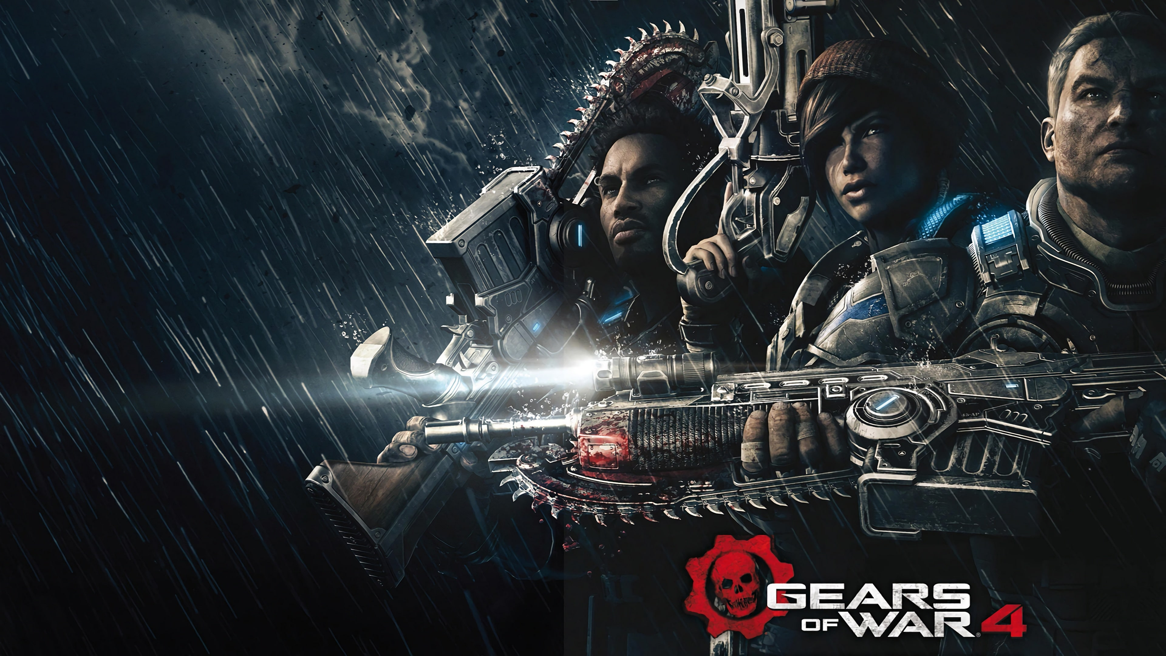 Gears of War 4 widescreen wallpapers