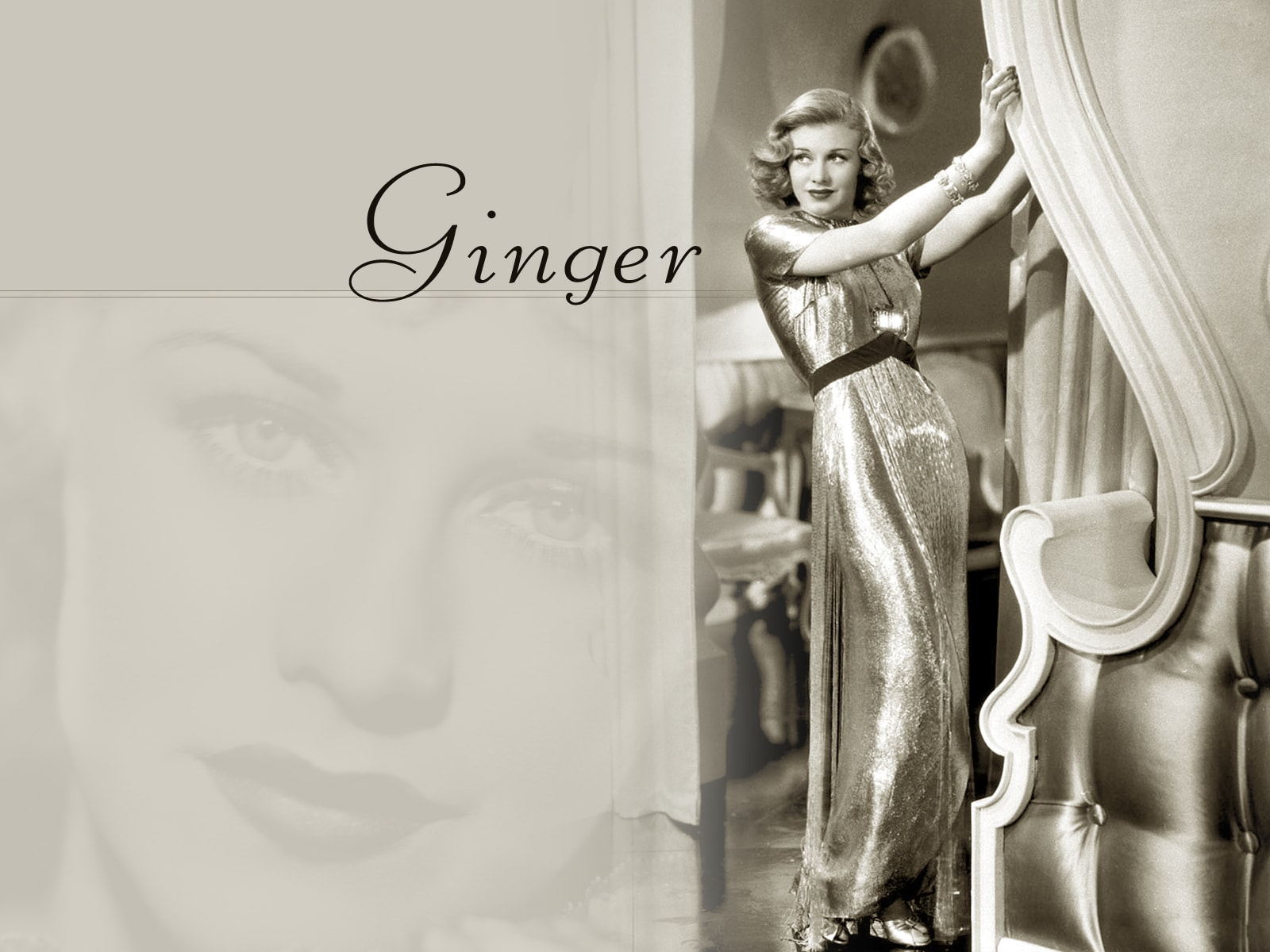 Ginger Rogers widescreen wallpapers