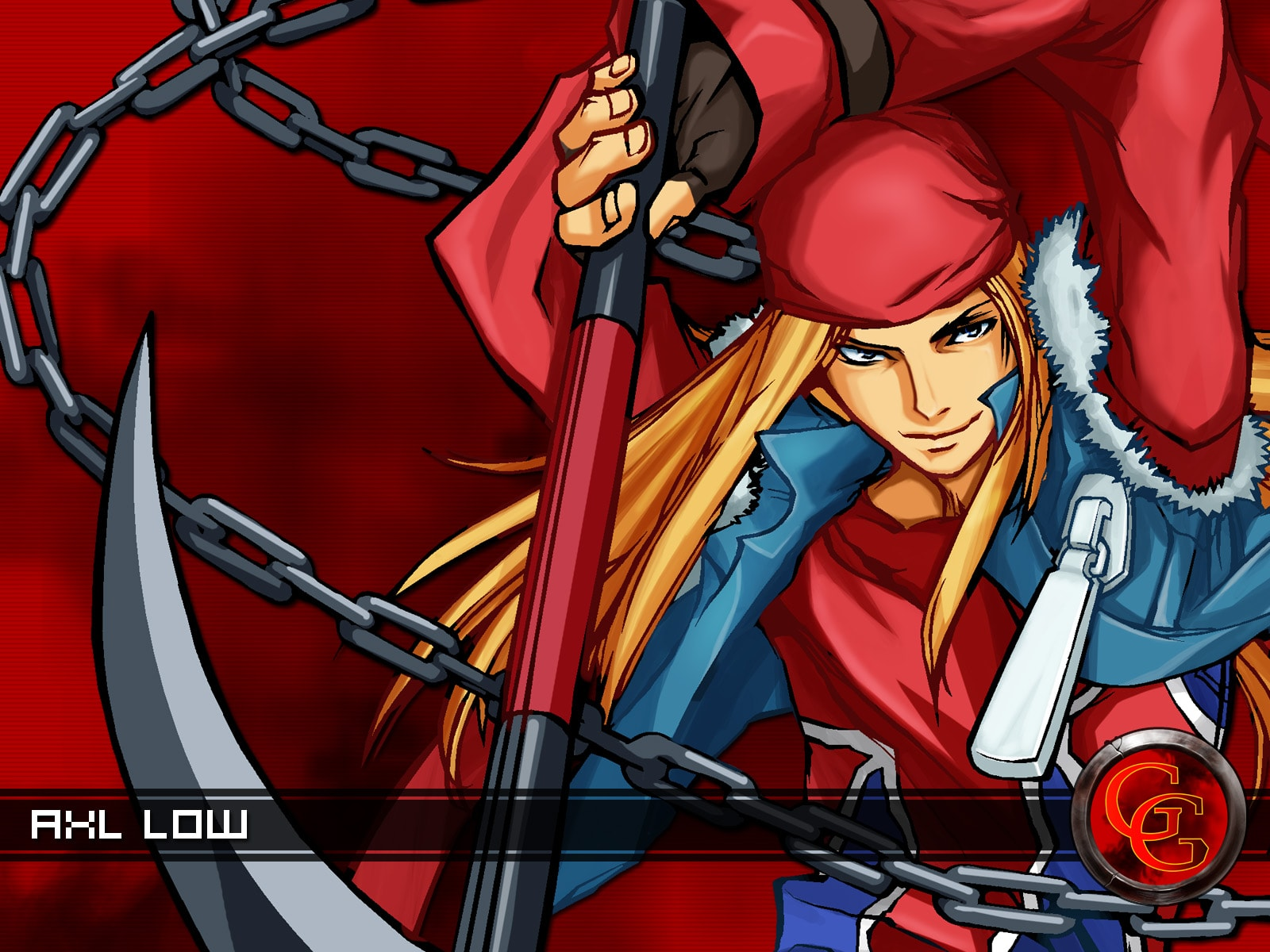 Guilty Gear: Axl Low widescreen wallpapers