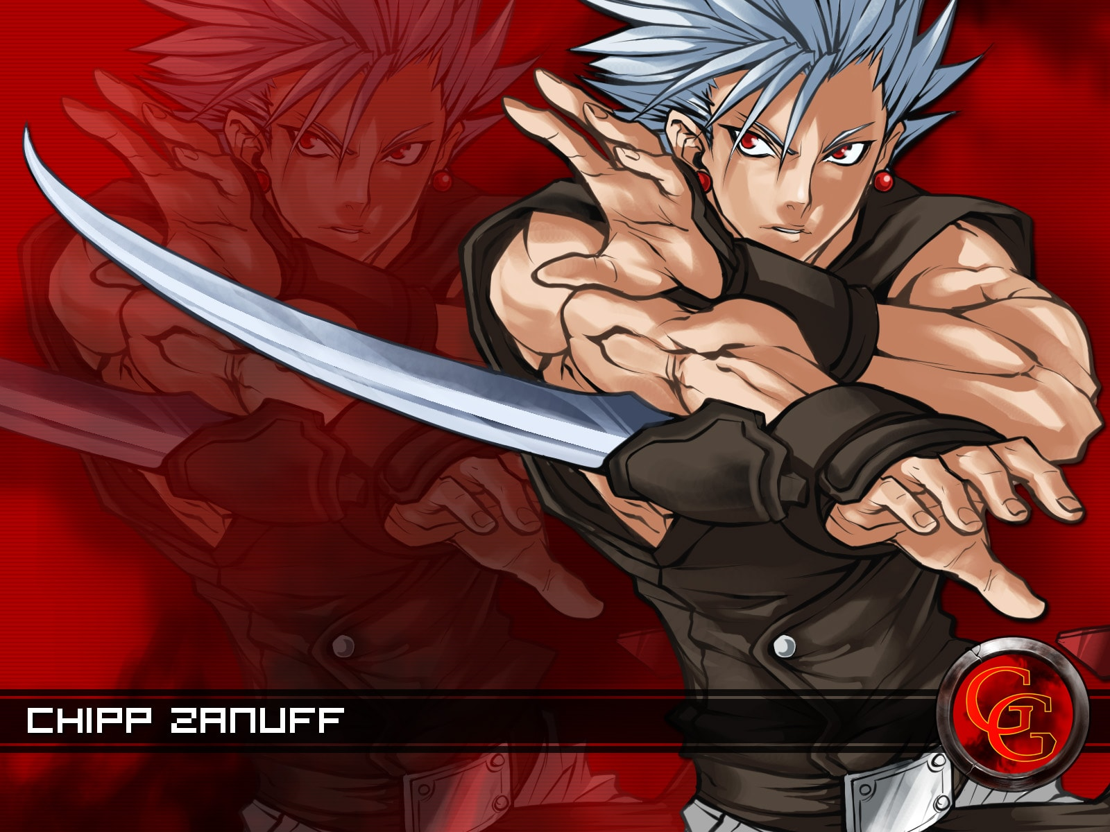 Guilty Gear: Chipp Zanuff widescreen wallpapers
