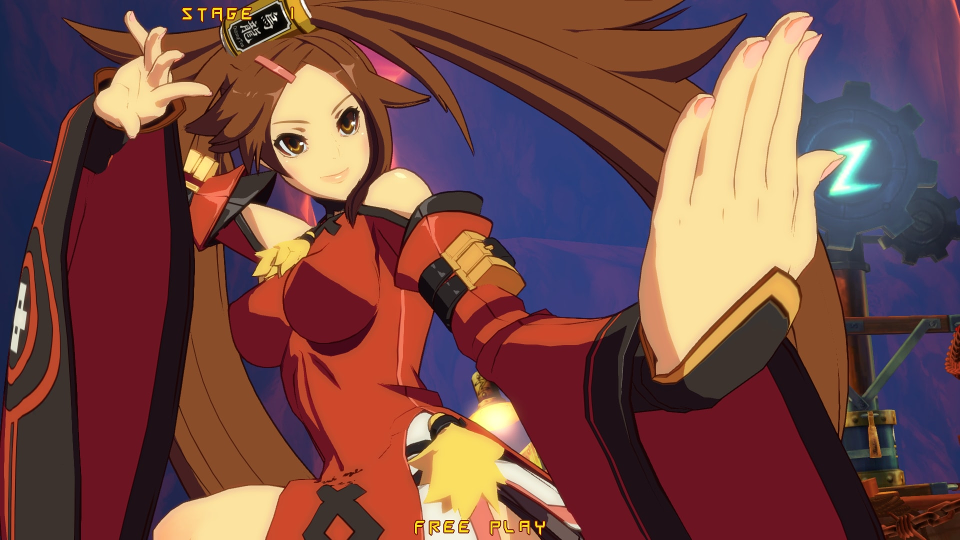Guilty Gear: Jam Kuradoberi widescreen wallpapers