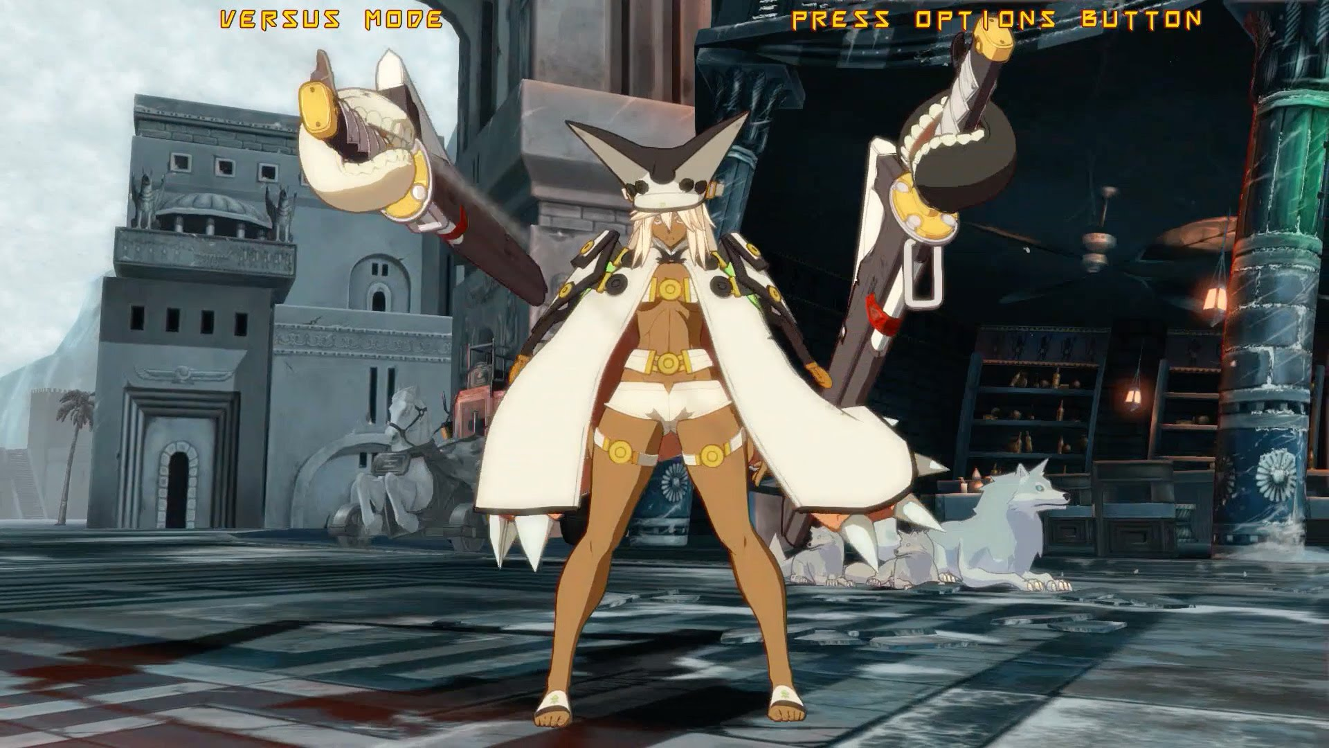 Guilty Gear: Ramlethal Valentine widescreen wallpapers