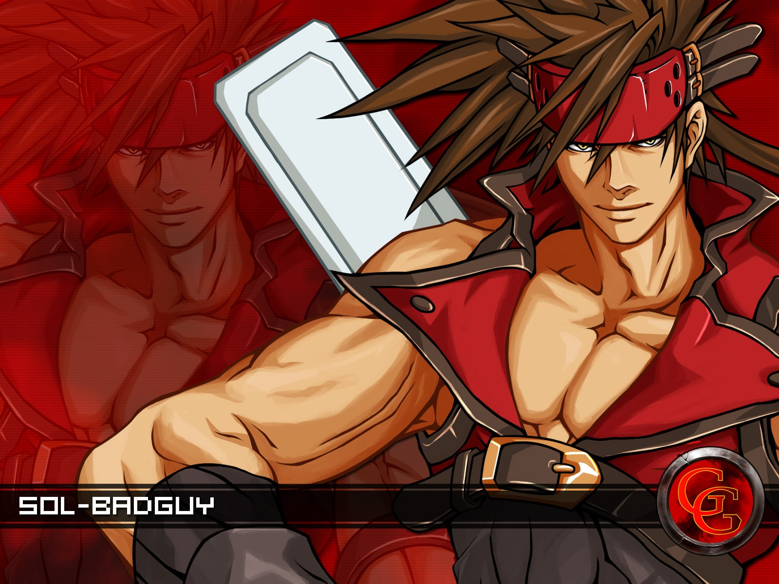 Guilty Gear: Sol Badguy widescreen wallpapers