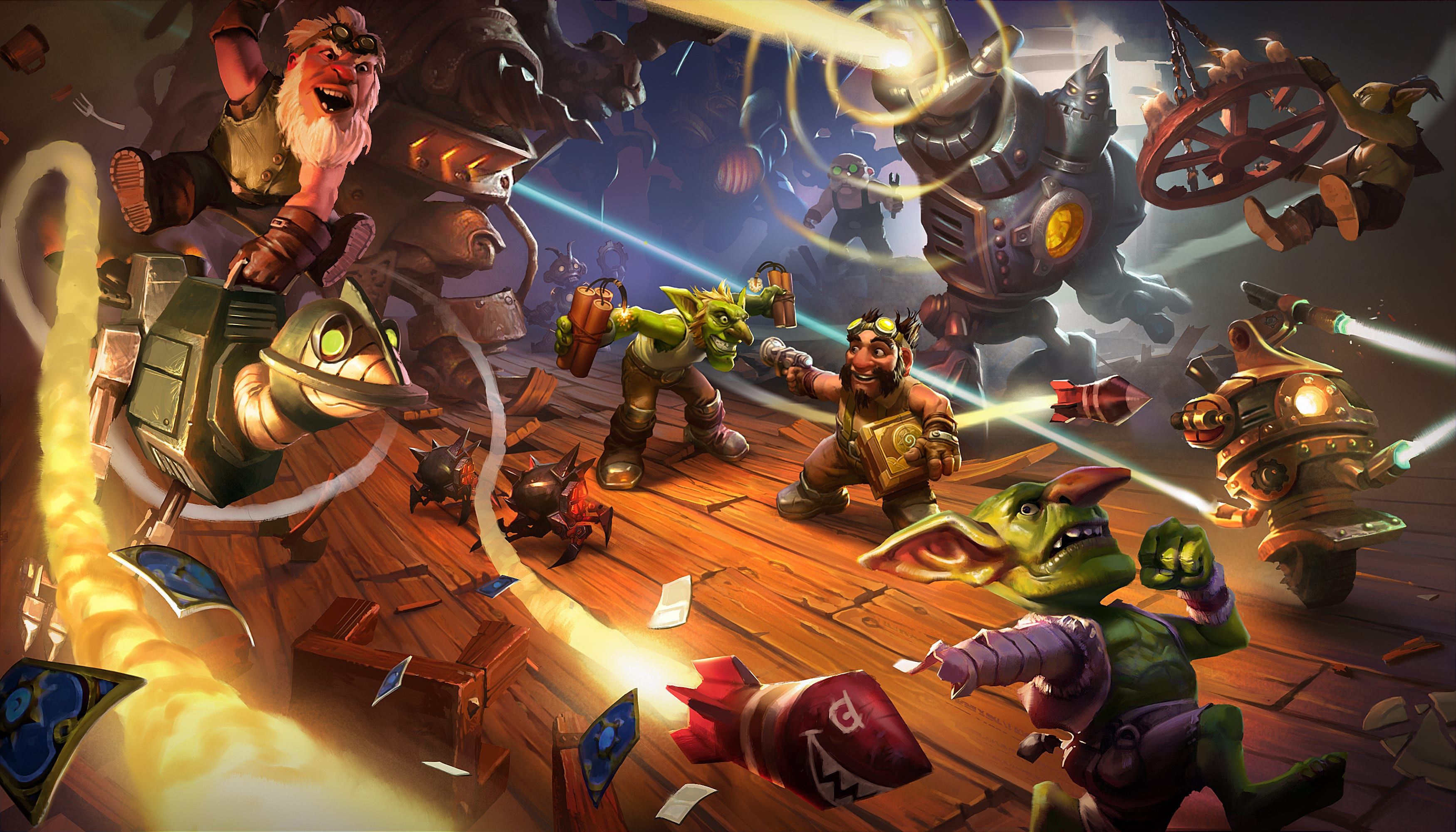 Hearthstone: Goblins Vs. Gnomes widescreen wallpapers