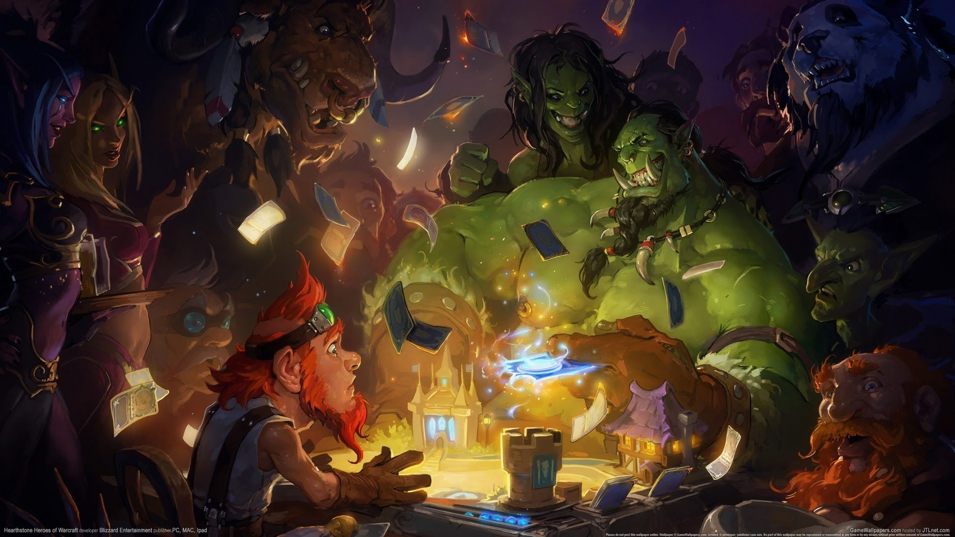 Hearthstone: Heroes Of Warcraft widescreen wallpapers