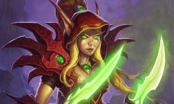 Hearthstone: Valeera Sanguinar widescreen wallpapers