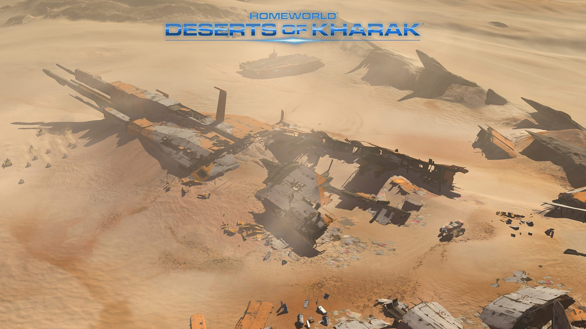 Homeworld: Deserts of Kharak widescreen wallpapers