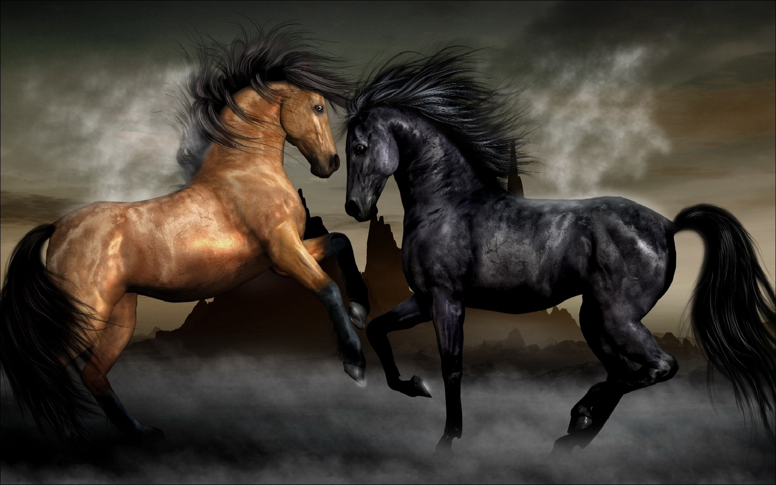 Horse widescreen wallpapers
