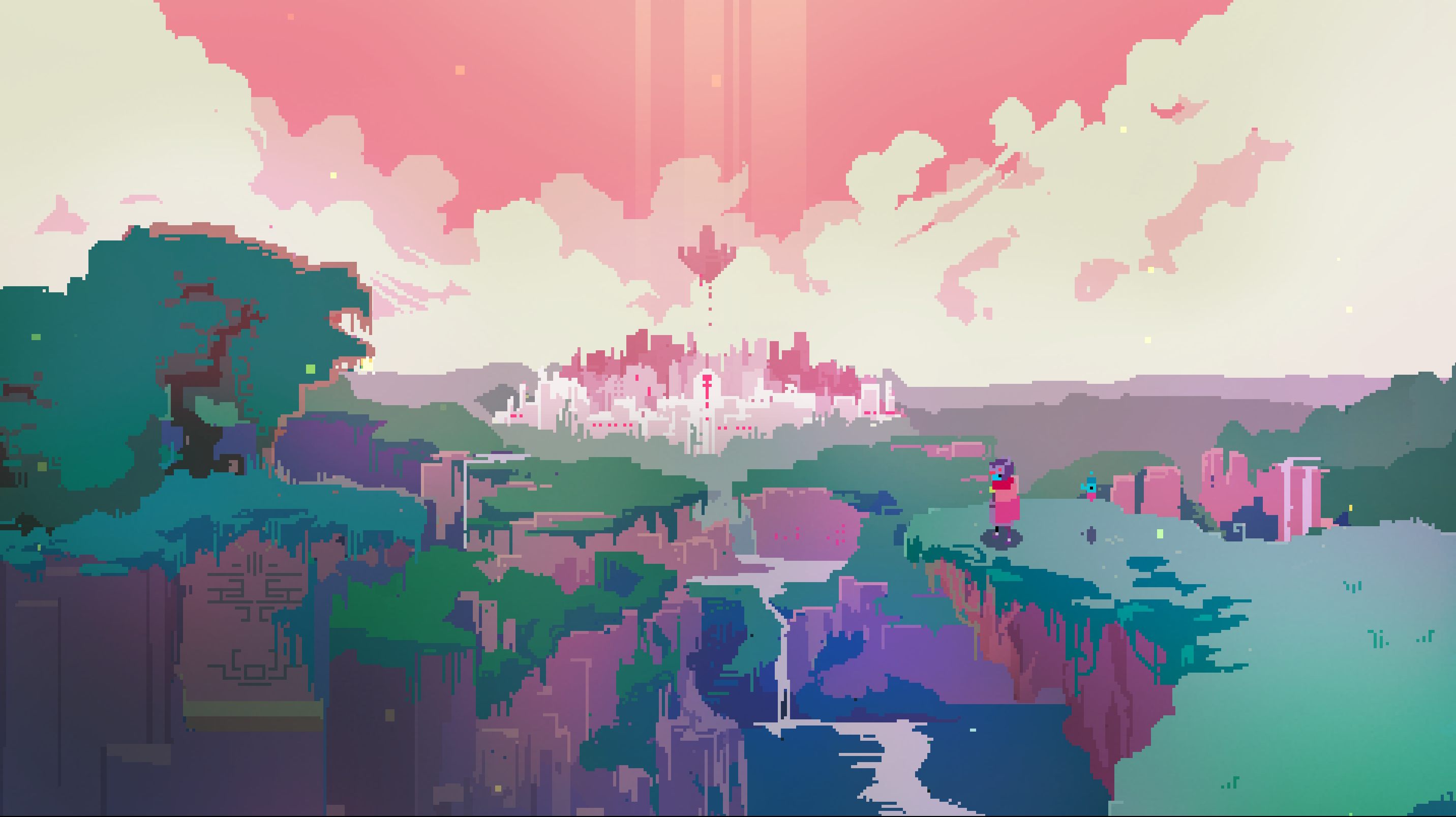 Hyper Light Drifter widescreen wallpapers
