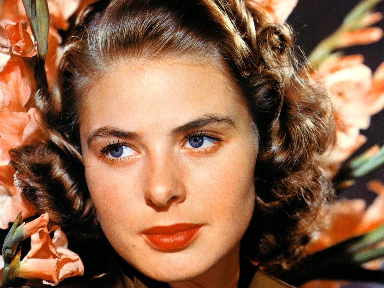 Ingrid Bergman widescreen wallpapers