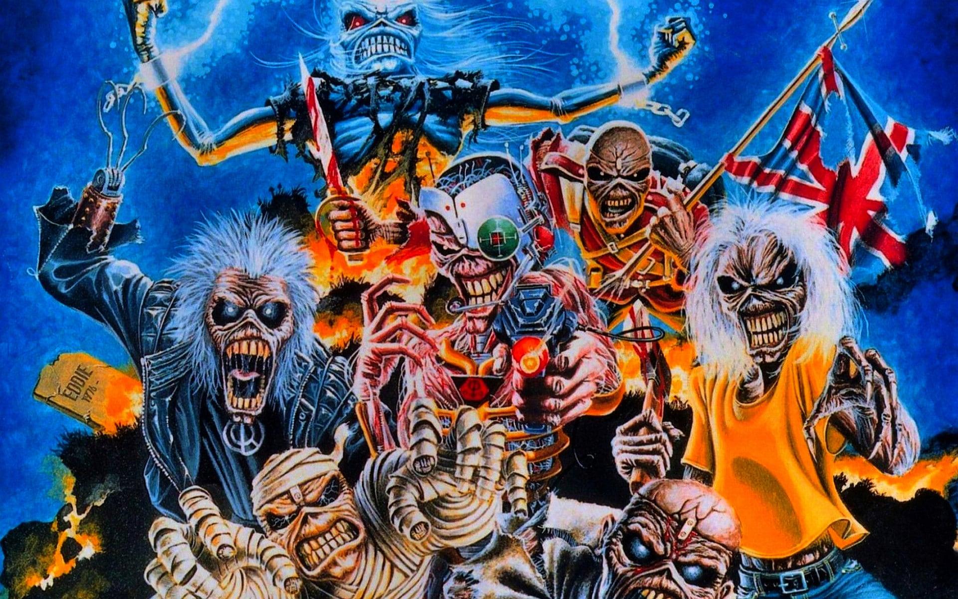 Iron Maiden Wallpapers Widescreen