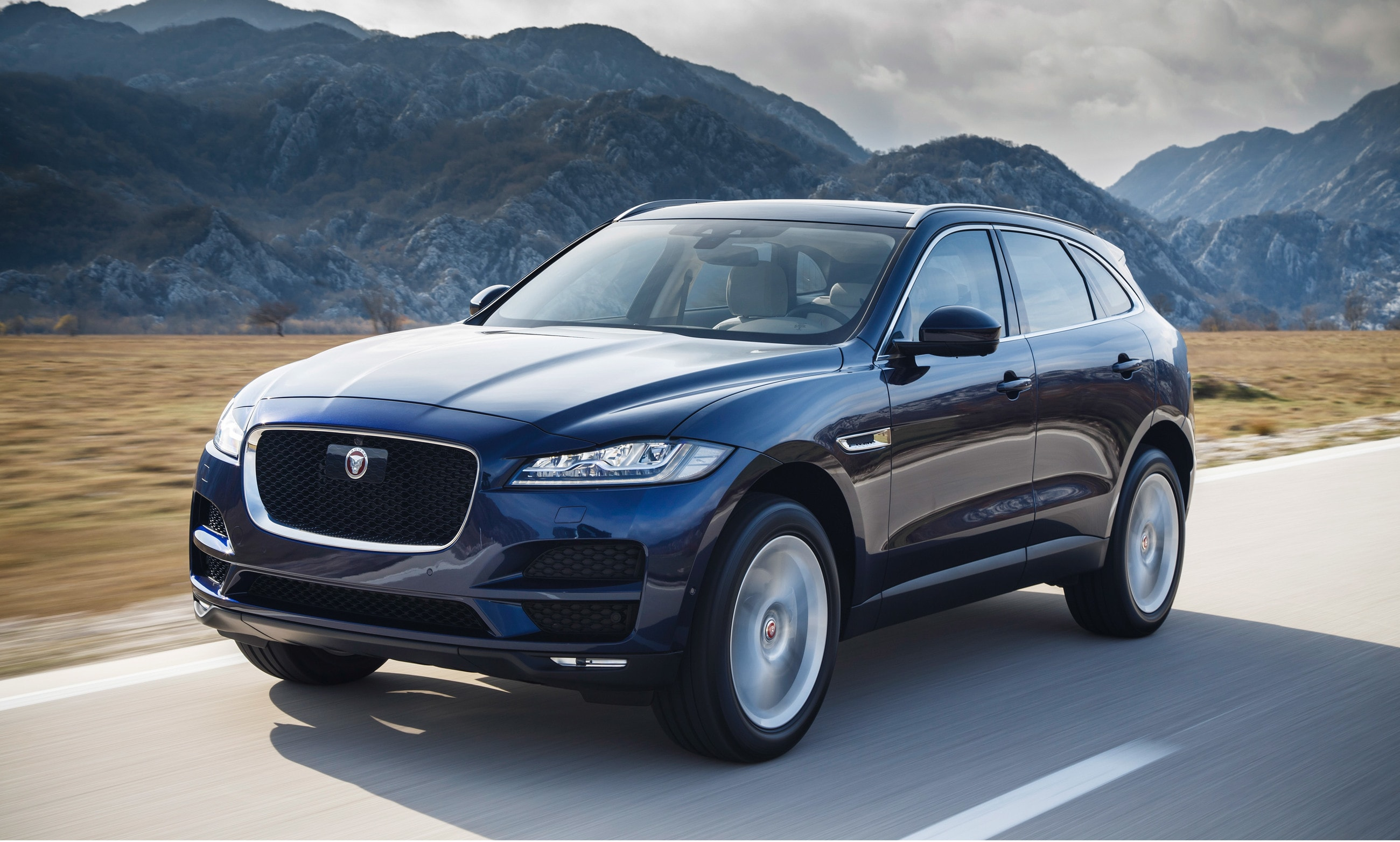 Jaguar F-Pace widescreen wallpapers