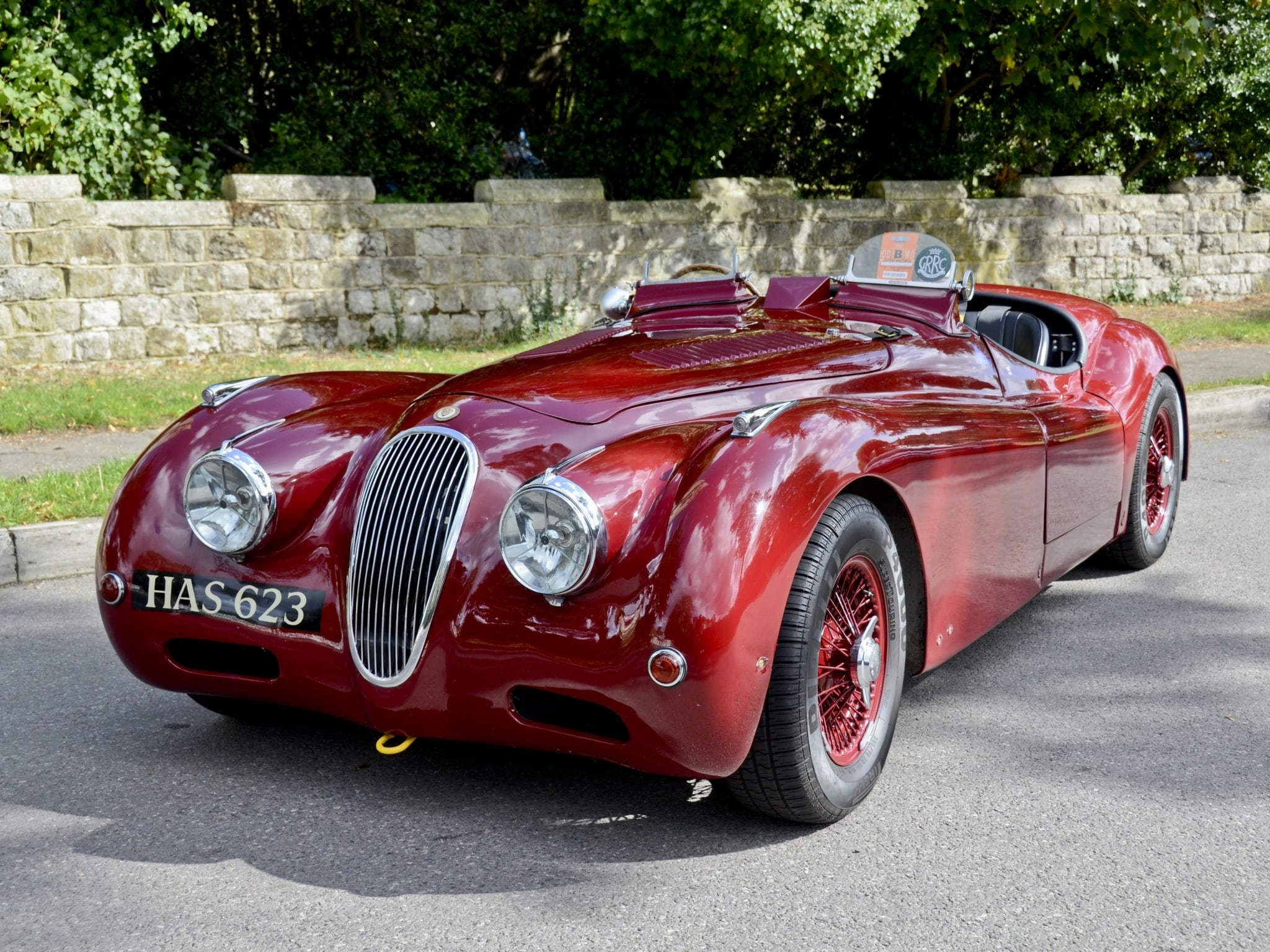 Jaguar XK120 widescreen wallpapers