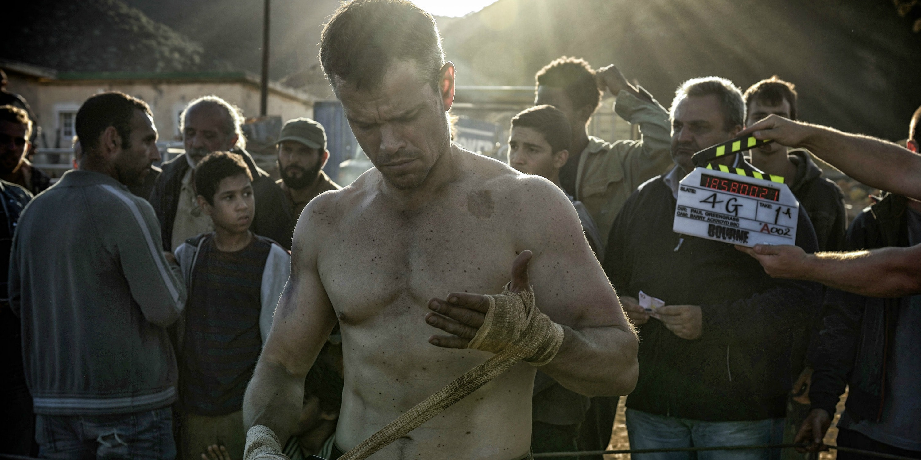 Jason Bourne widescreen wallpapers
