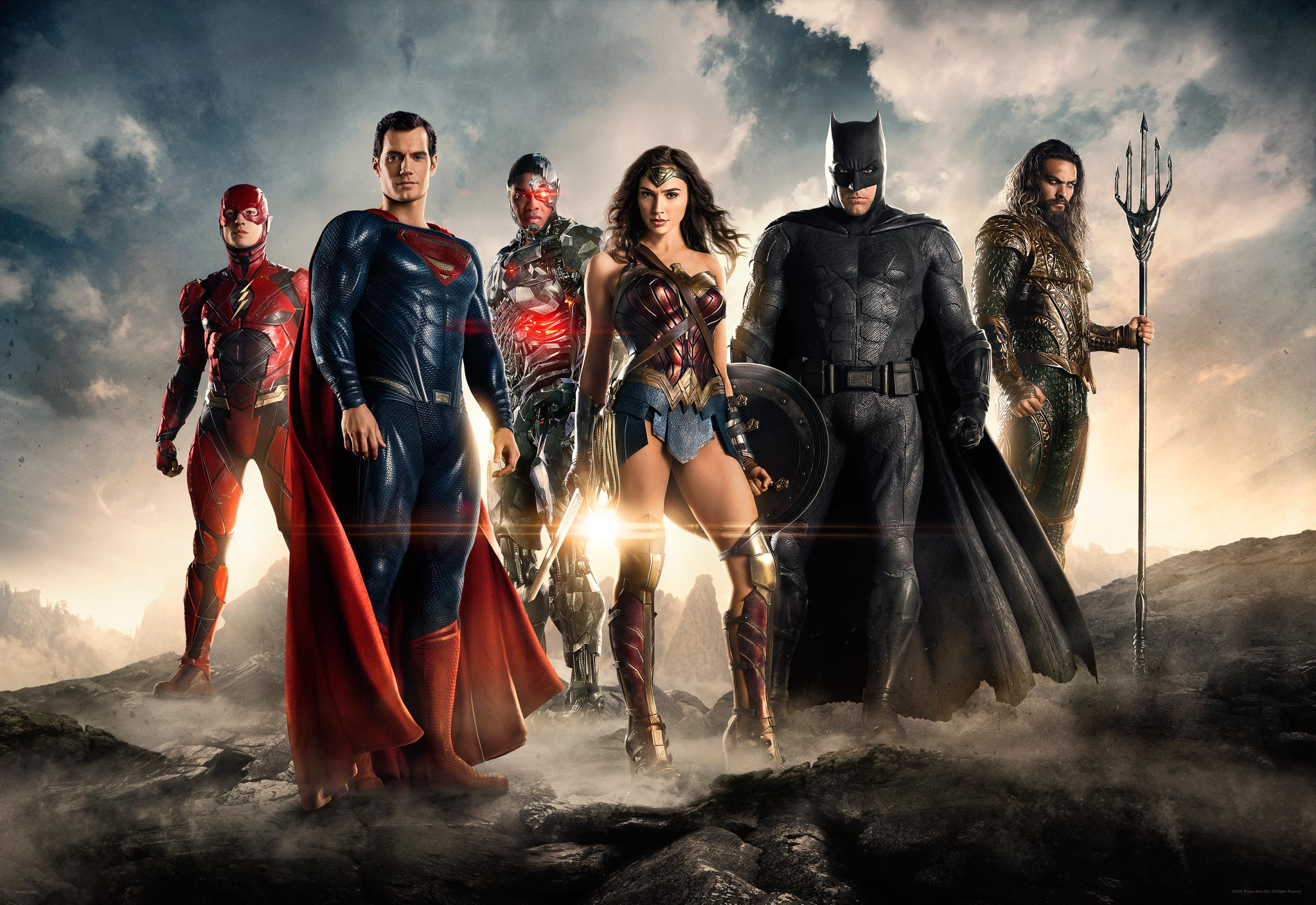 Justice League widescreen wallpapers