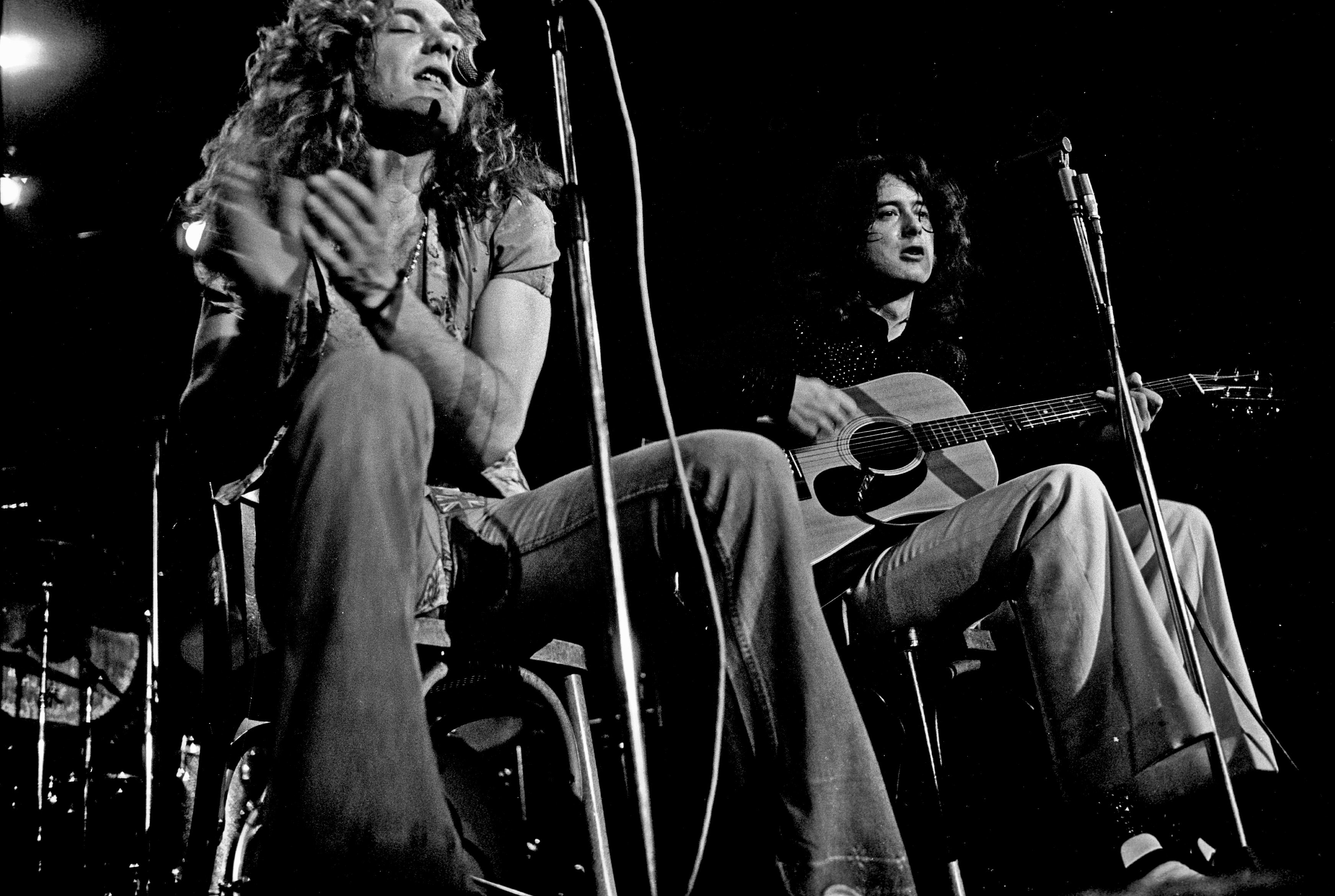 Led Zeppelin widescreen wallpapers