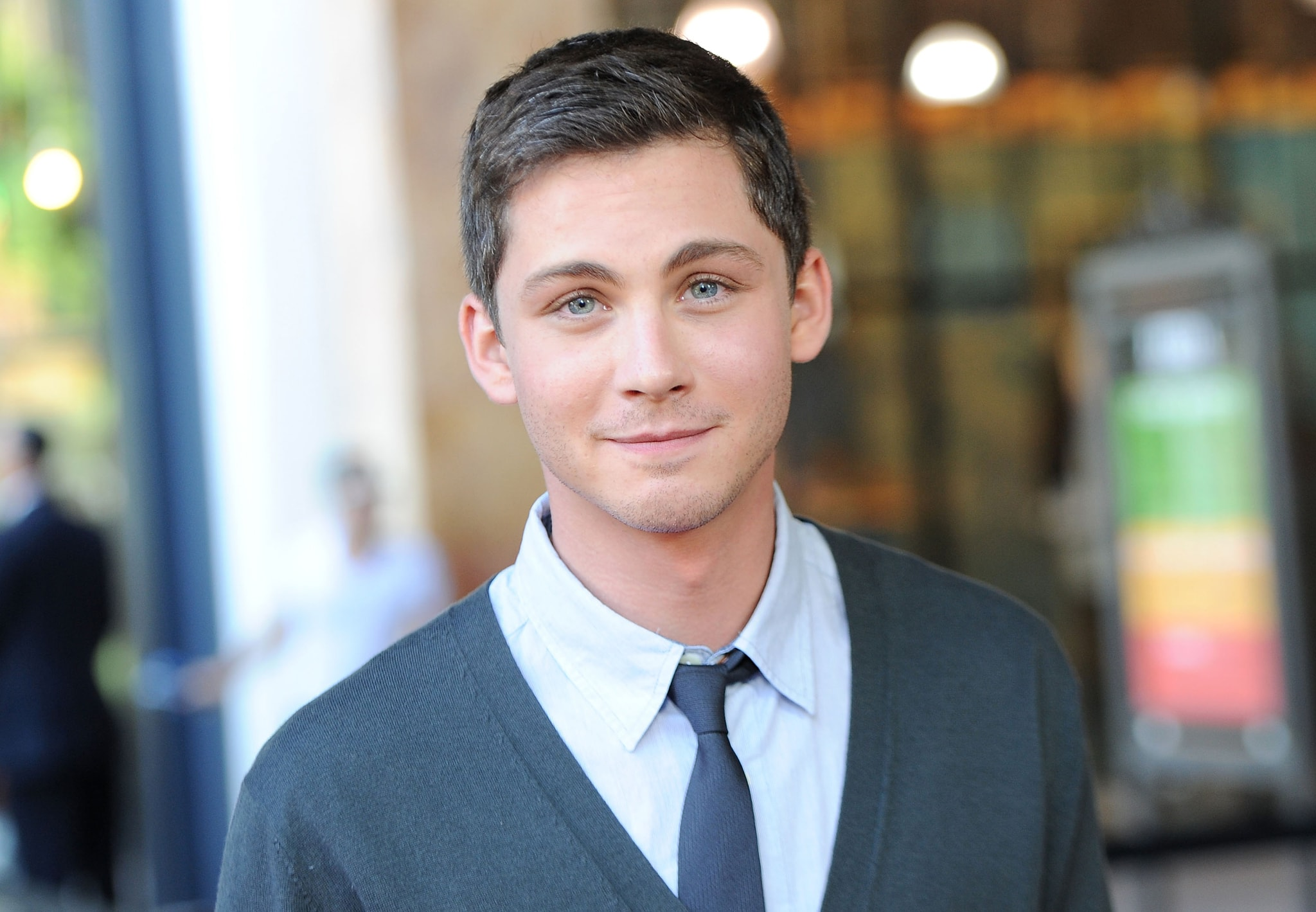 Logan Lerman widescreen wallpapers