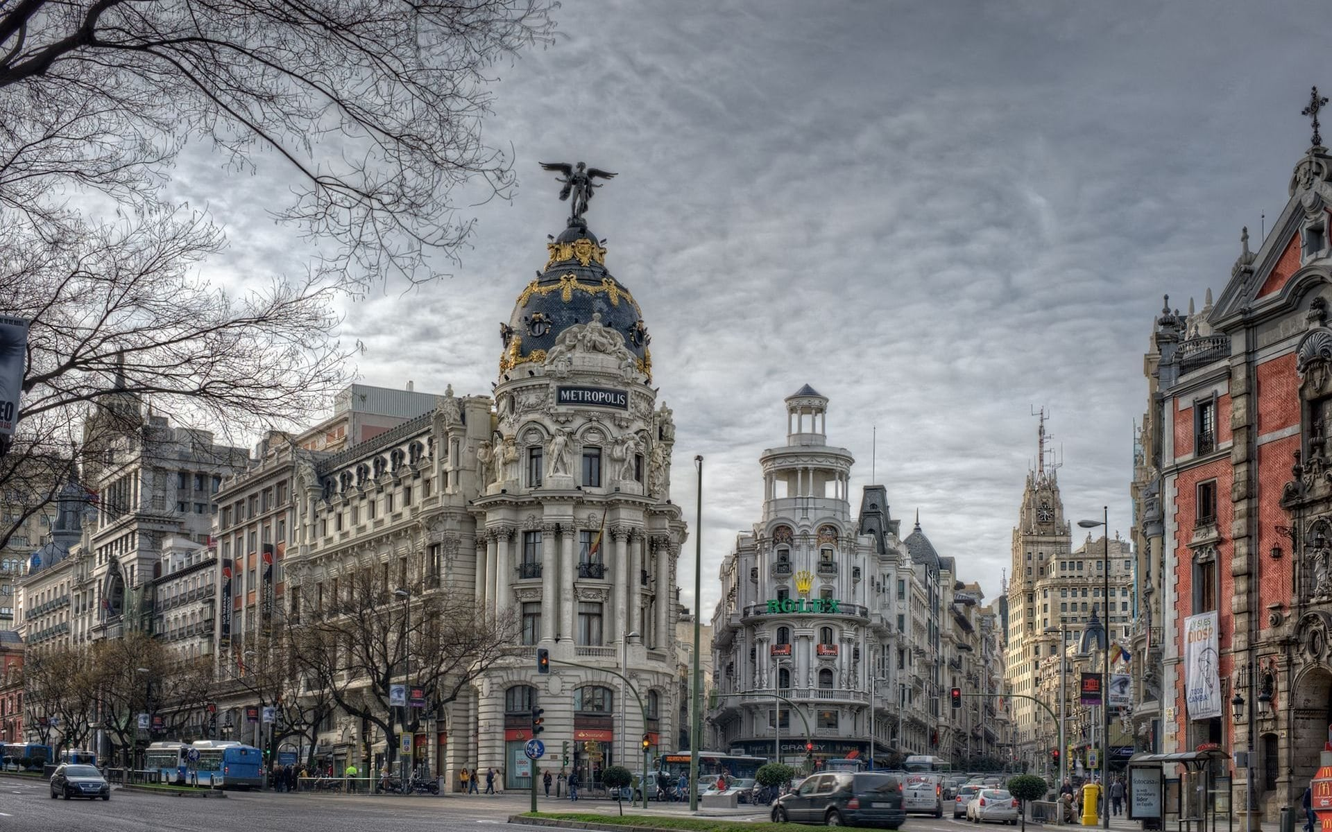 Madrid widescreen wallpapers