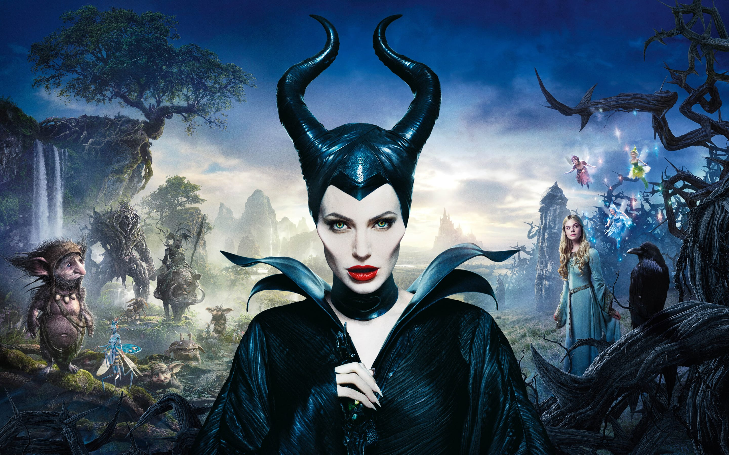 Maleficent widescreen wallpapers