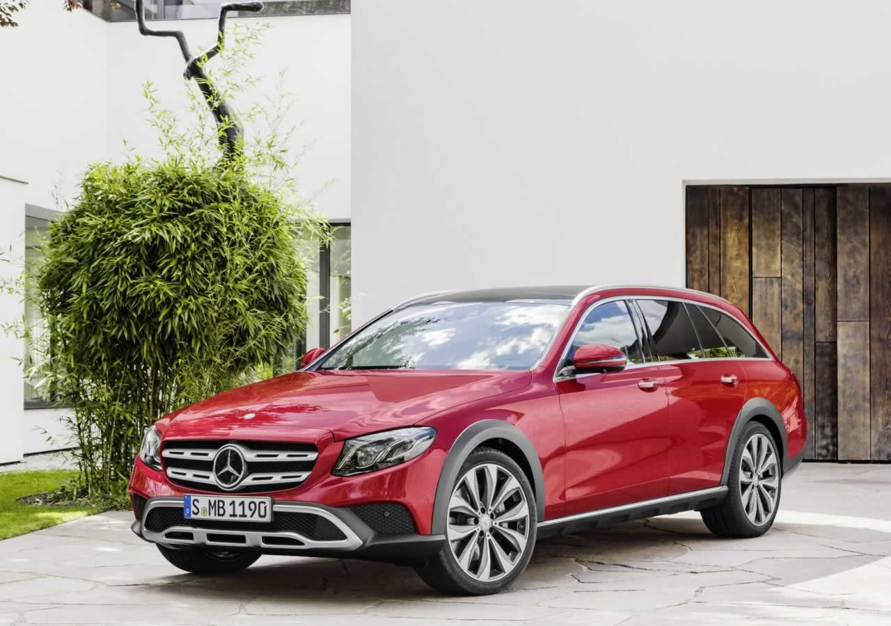 Mercedes E-Class All-Terrain widescreen wallpapers