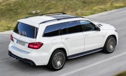 Mercedes GLS widescreen wallpapers