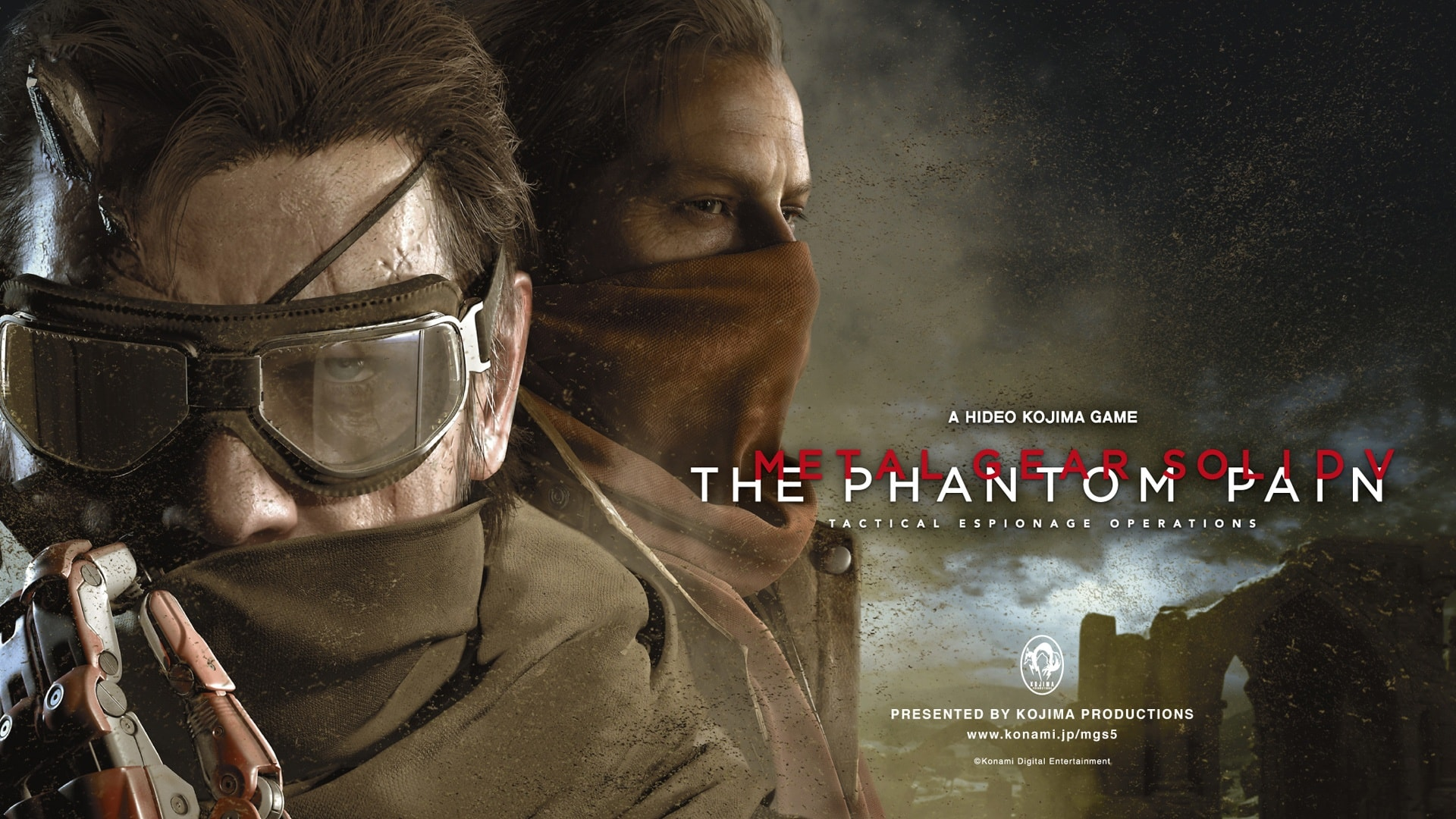 Metal Gear Solid V: The Phantom Pain widescreen wallpapers