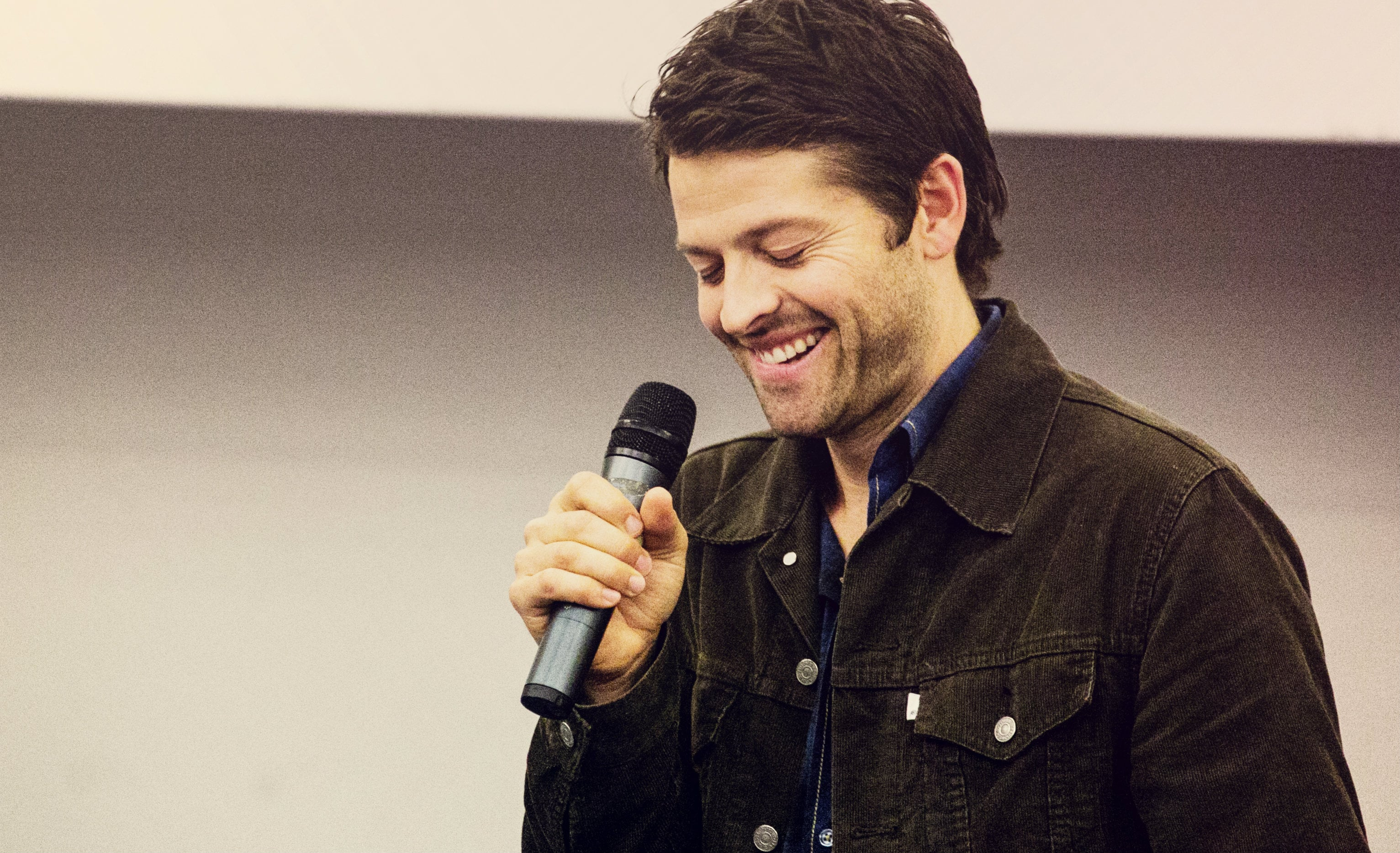 Misha Collins widescreen wallpapers