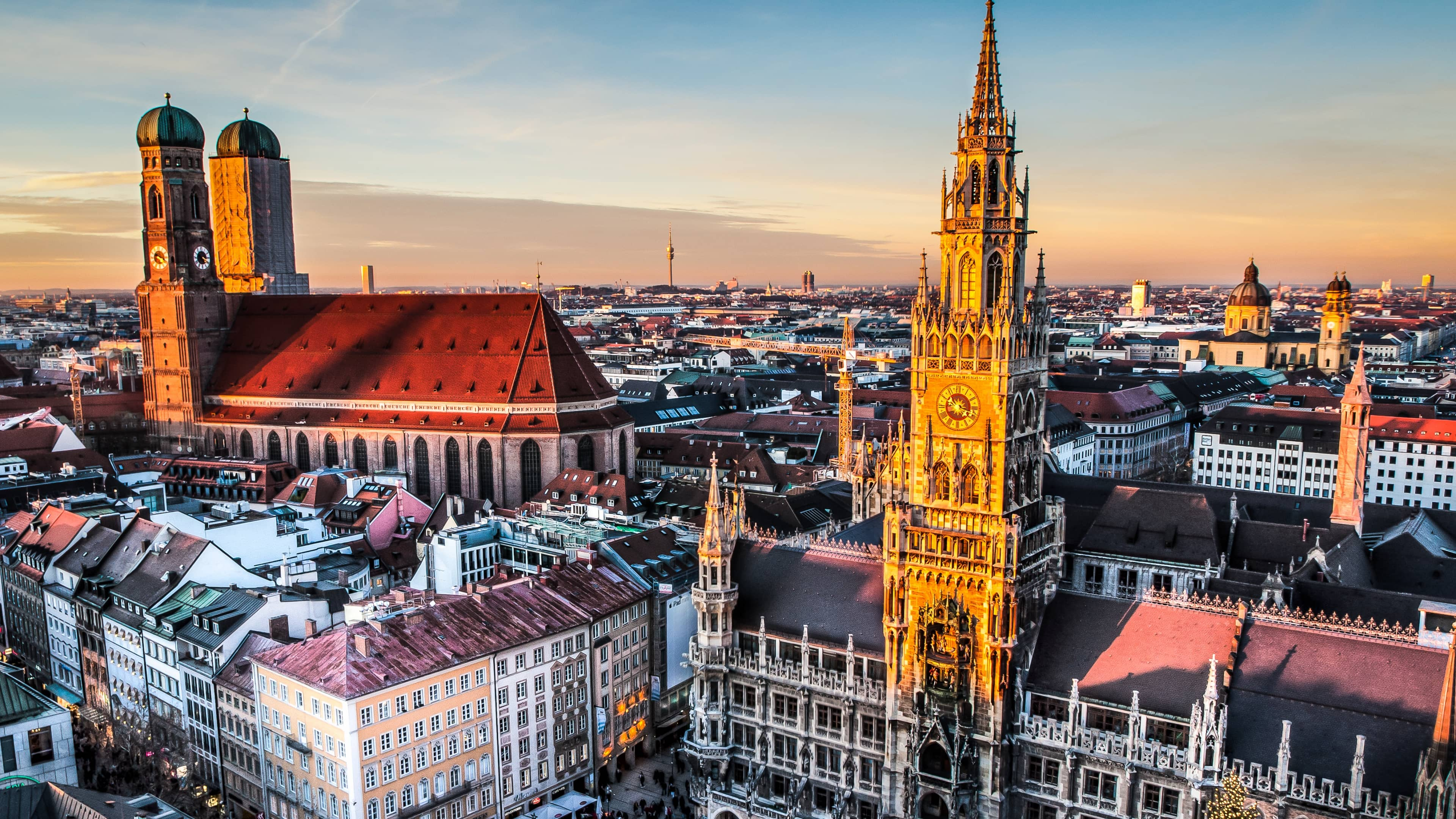Munich widescreen wallpapers