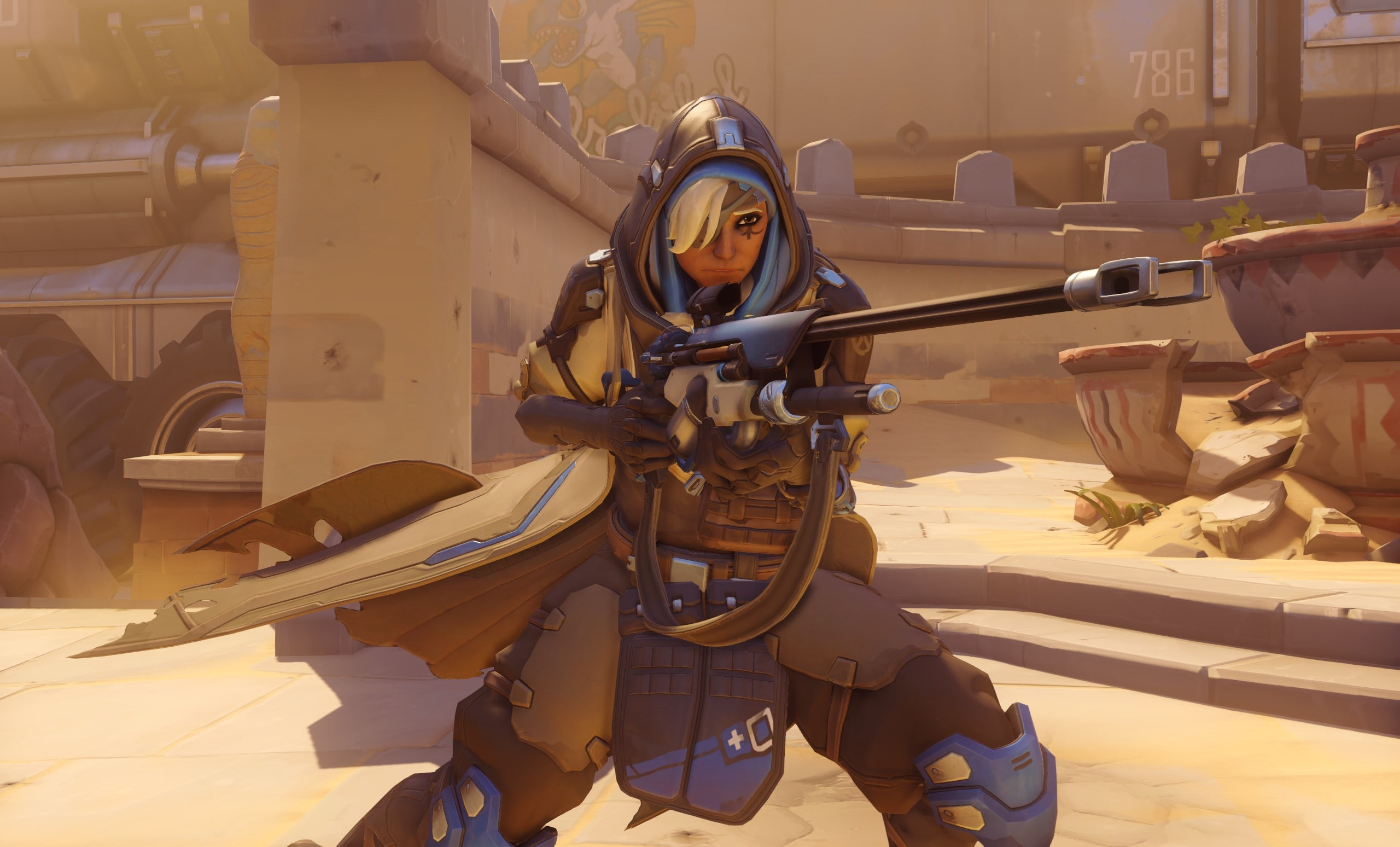 Overwatch : Ana widescreen wallpapers